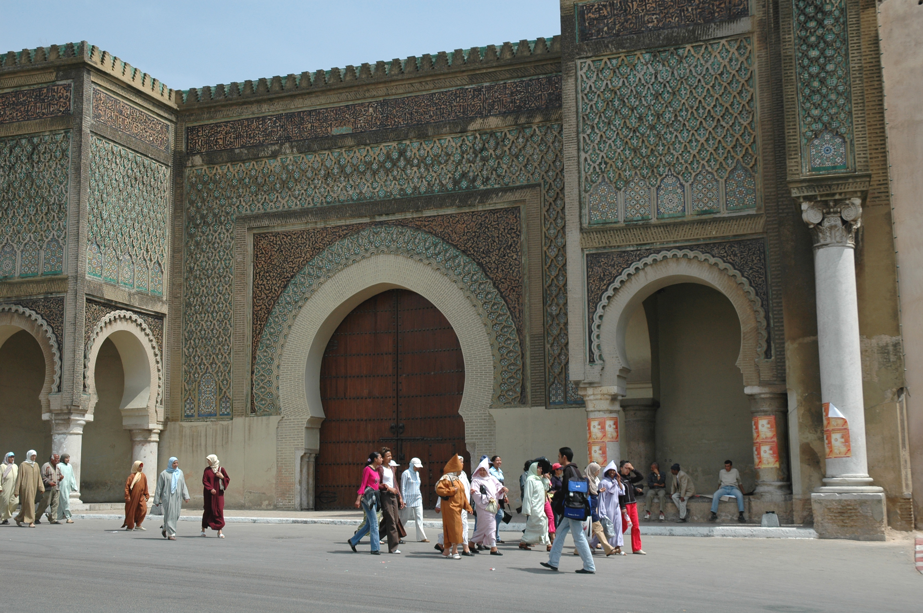 MEKNES Bab el Mansour