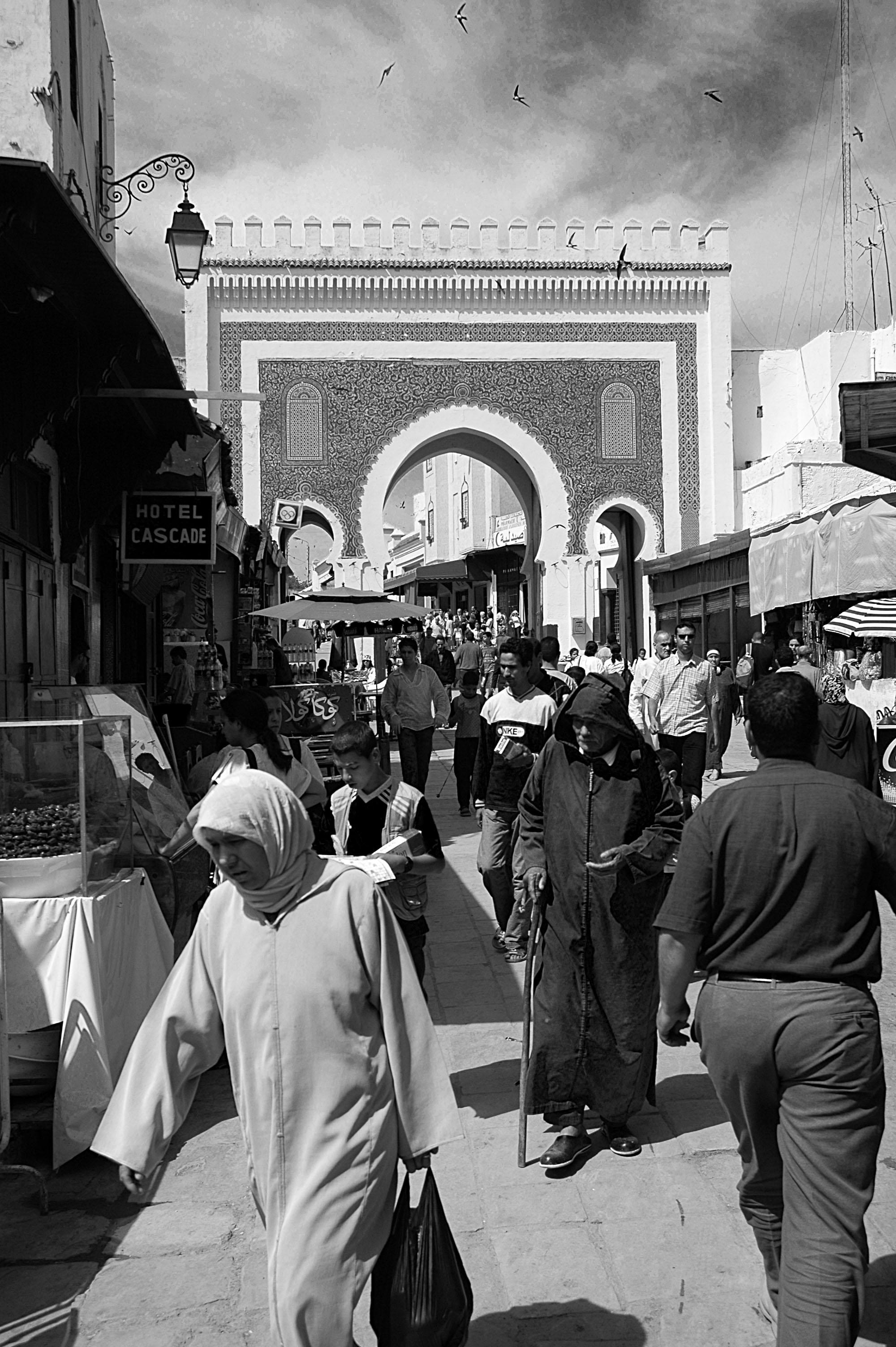 Maroc nord Fes Bab Boujeloud