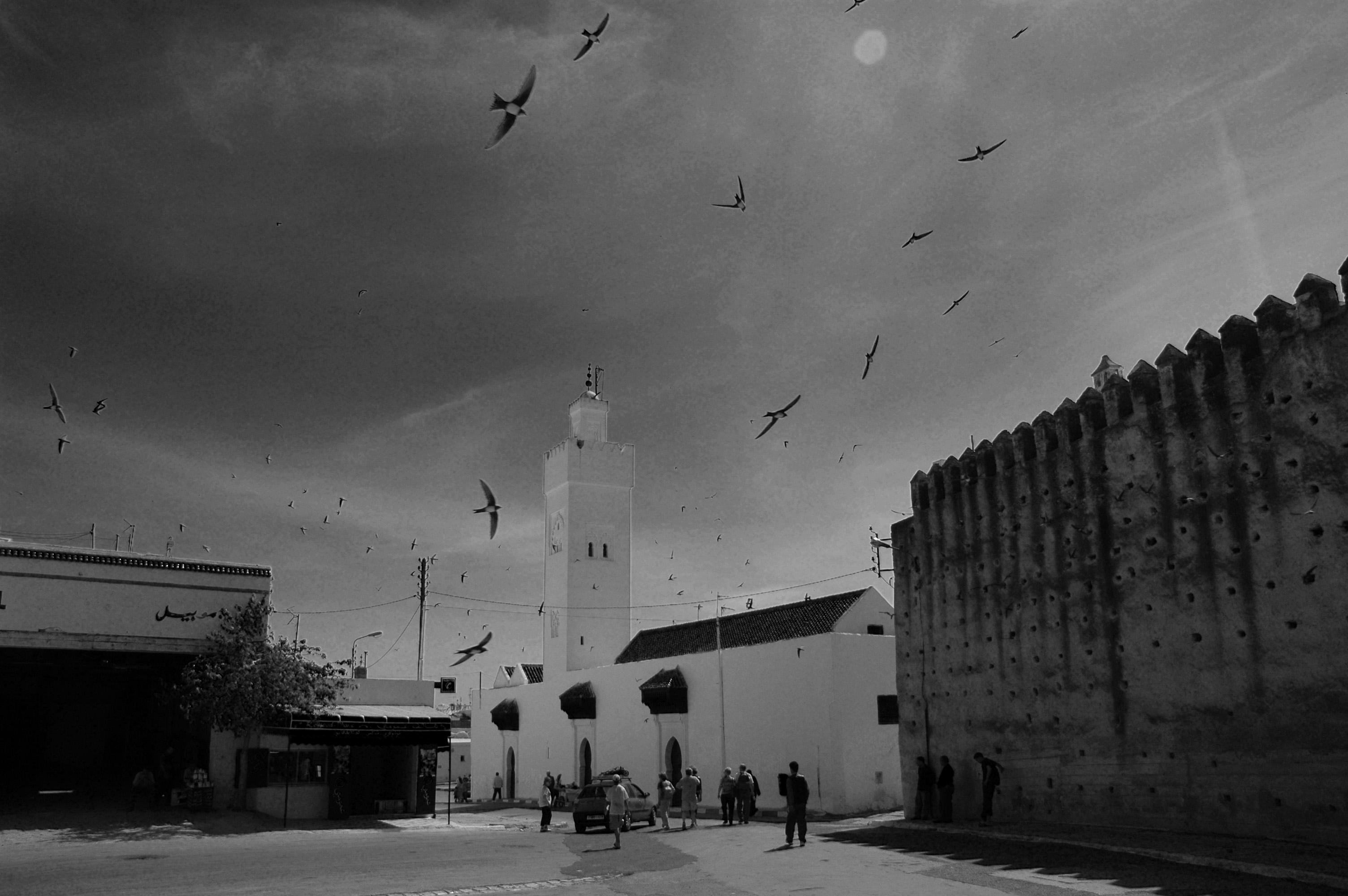 Maroc nord Fes derri_re Bab Boujeloud
