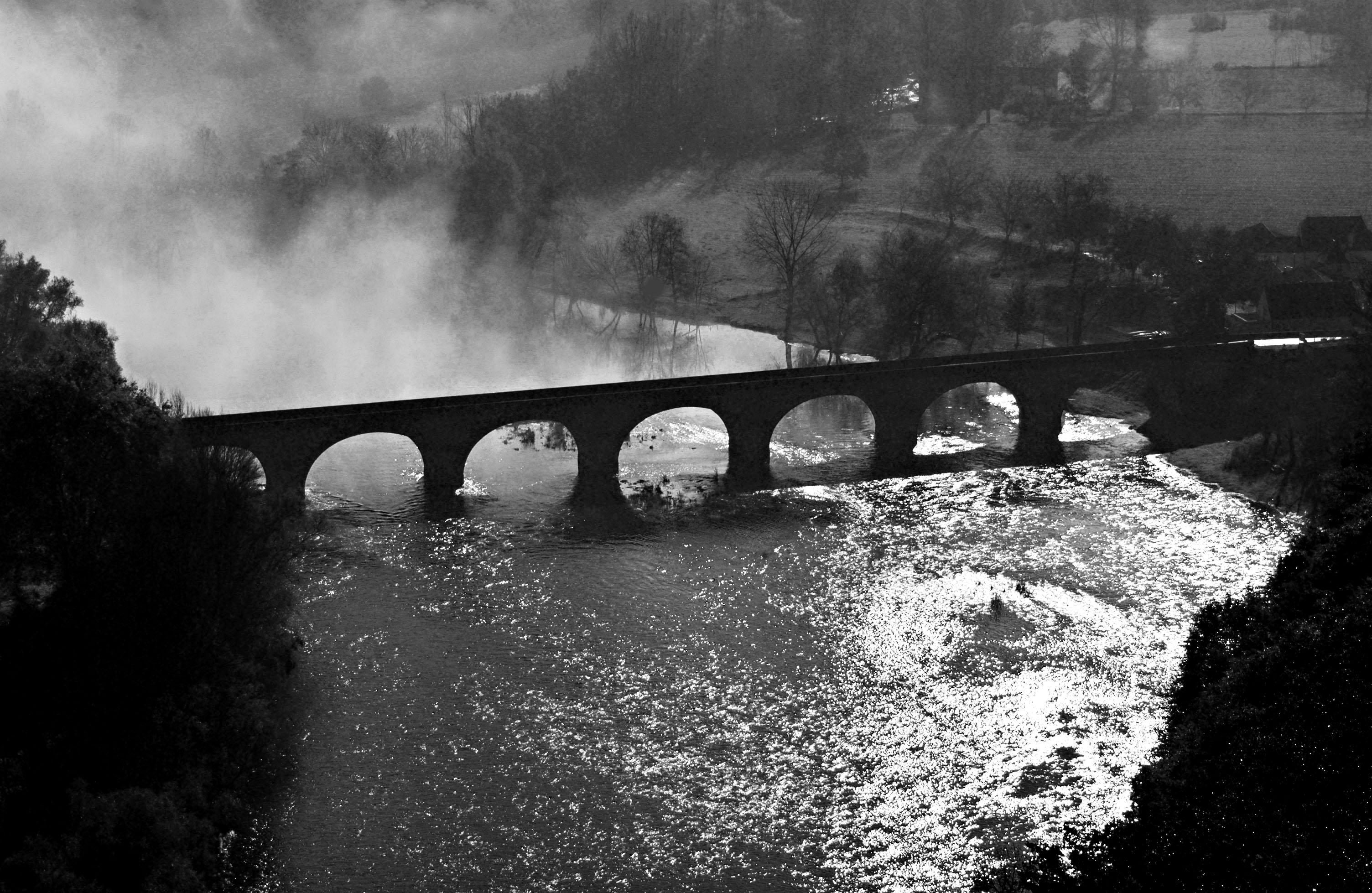 Périgord noir Pont de Castelnaud