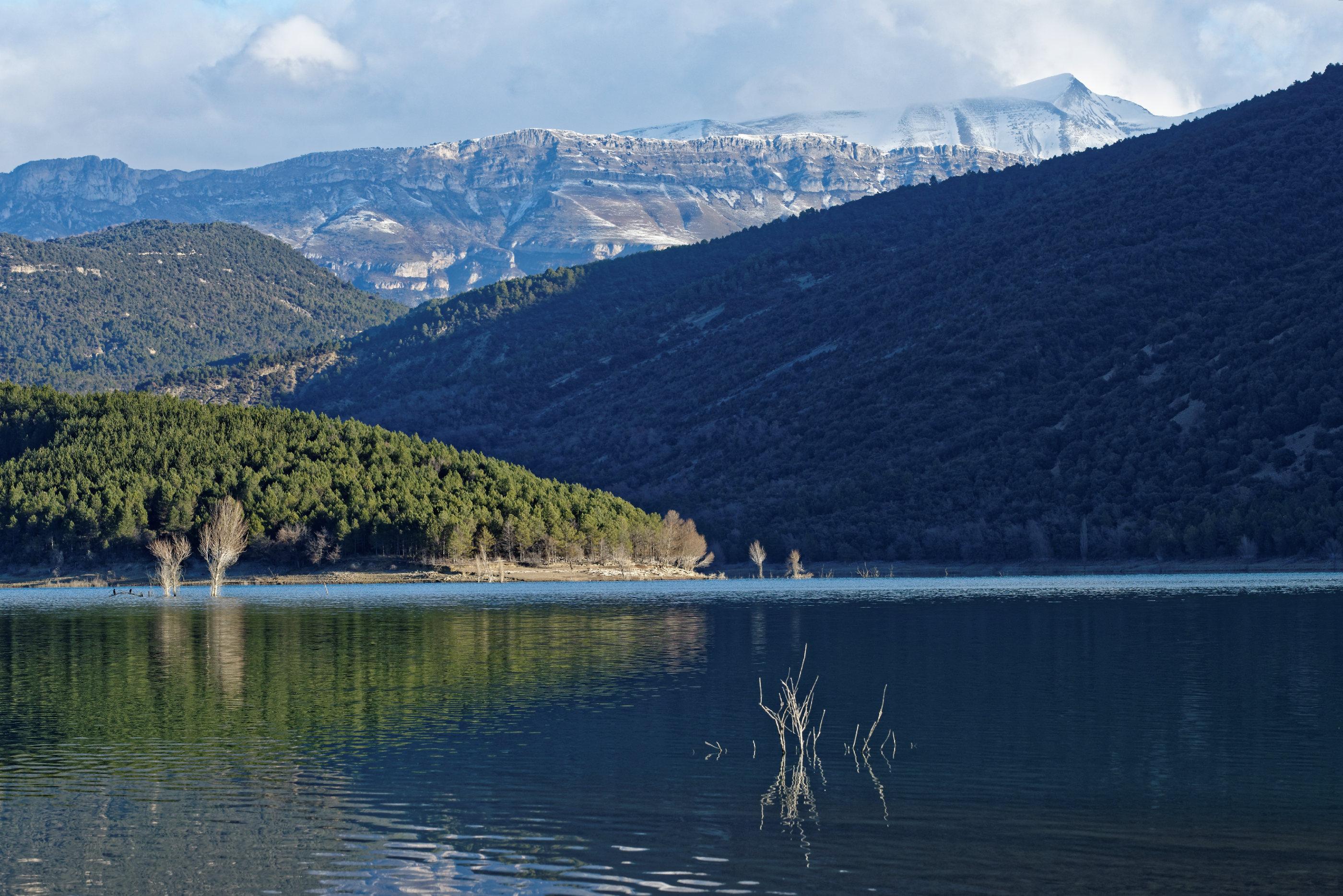 150126-Lac Mediano le matin (Sobrarbe) (18)