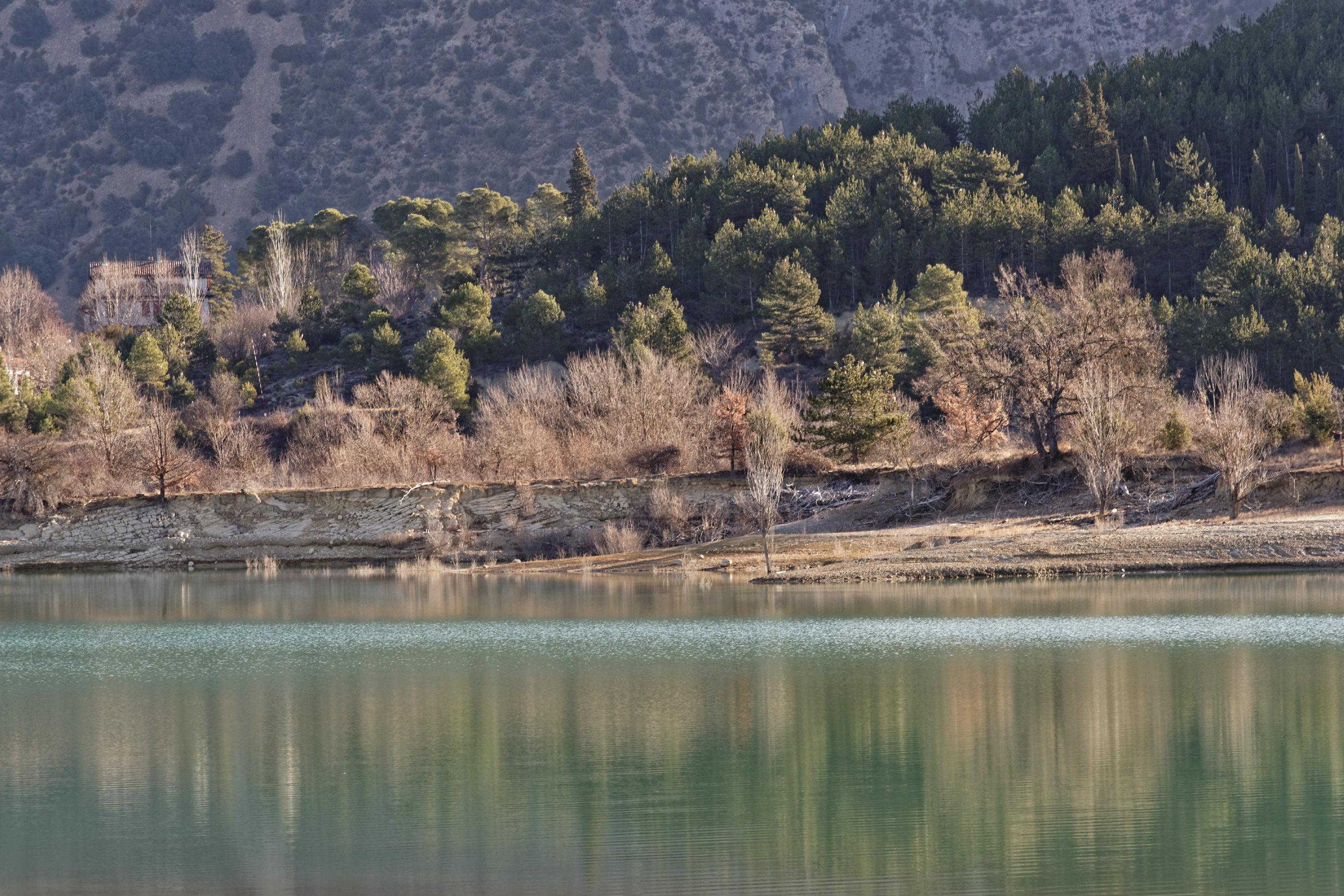 150126-Lac Mediano le matin (Sobrarbe) (26)