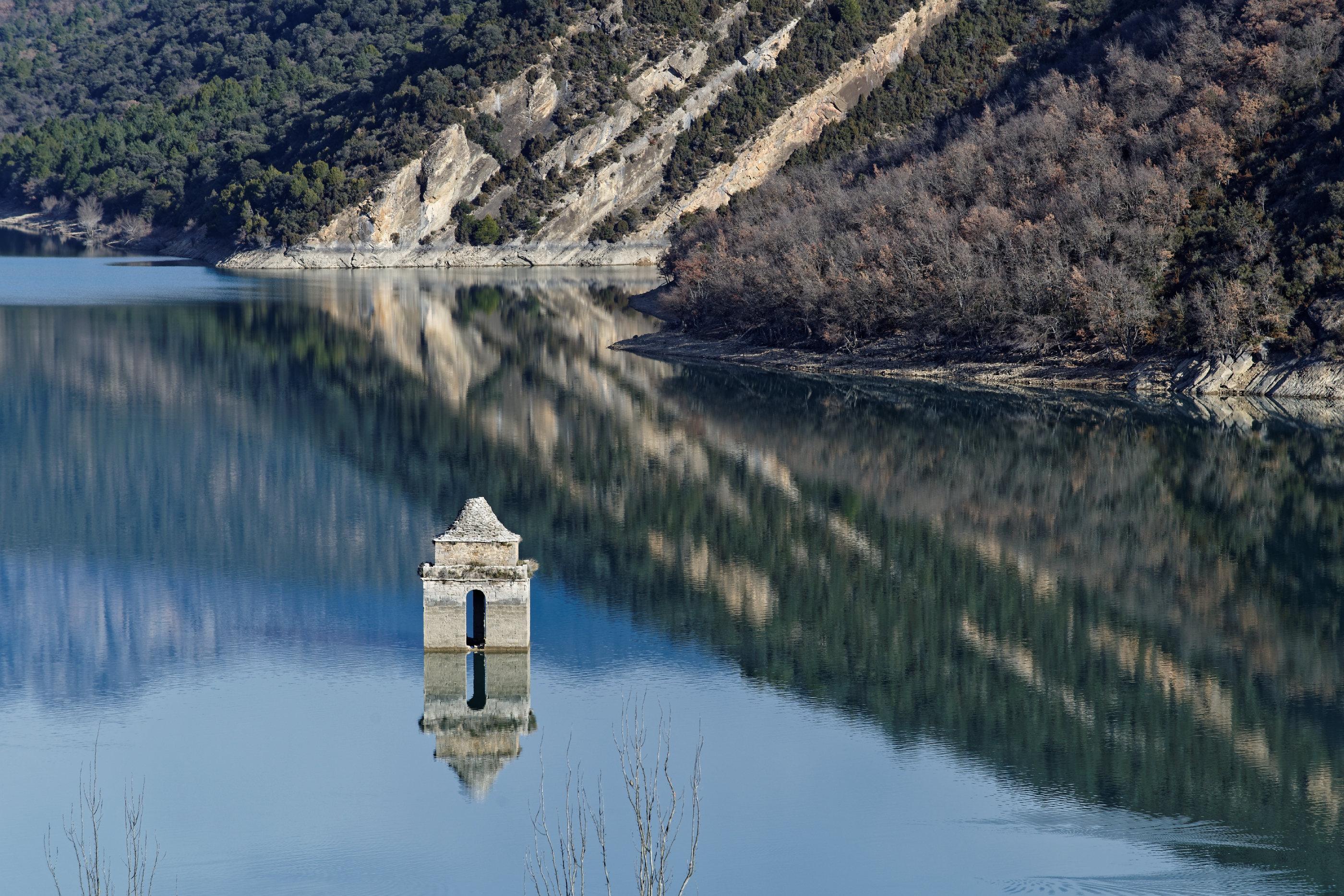 150126-Lac Mediano le matin (Sobrarbe) (36)