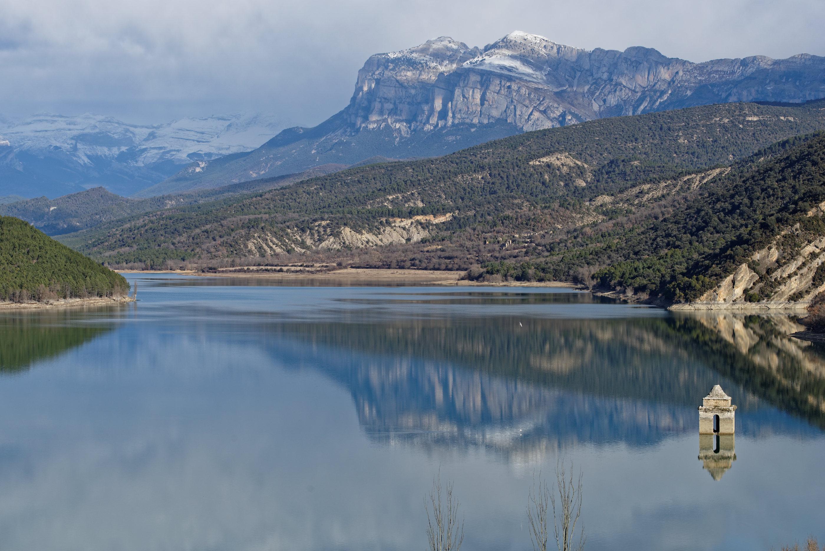 150126-Lac Mediano le matin (Sobrarbe) (37)