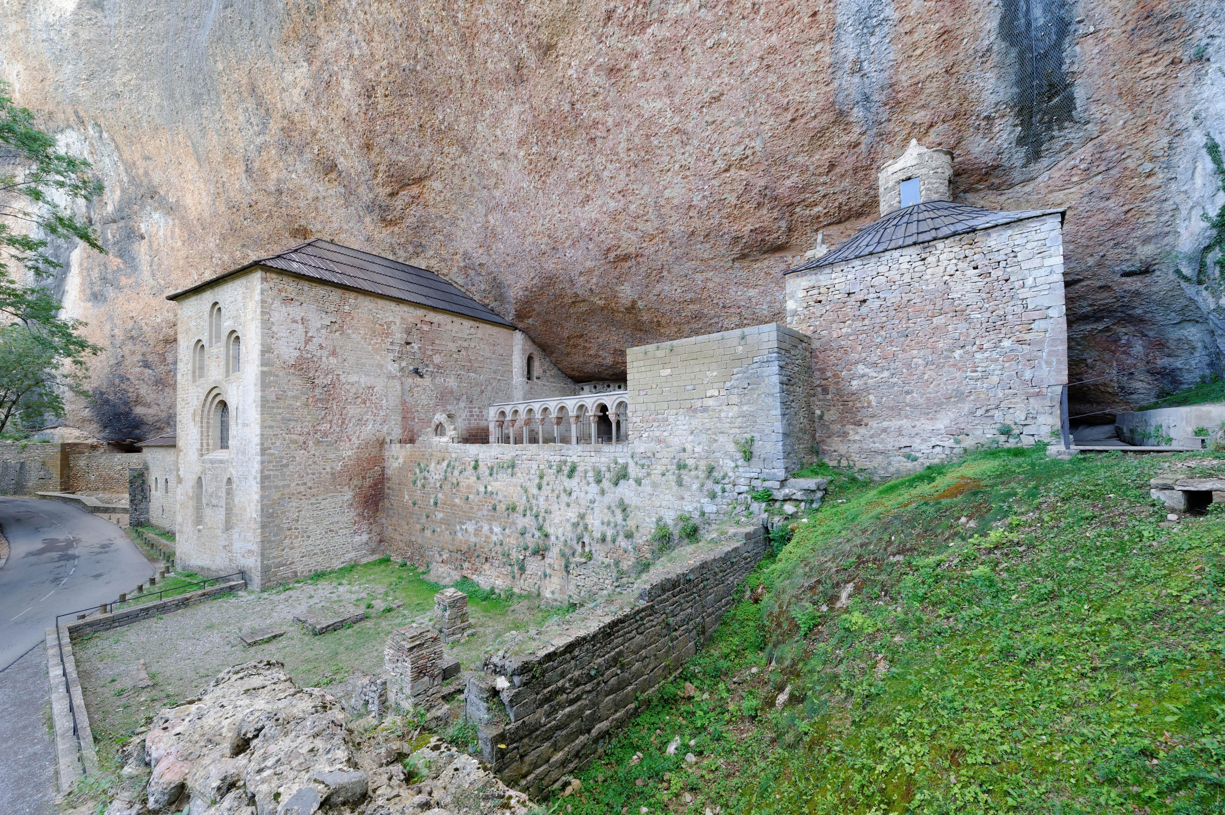 3772_ancien  San Juan de la Pena (Aragon)