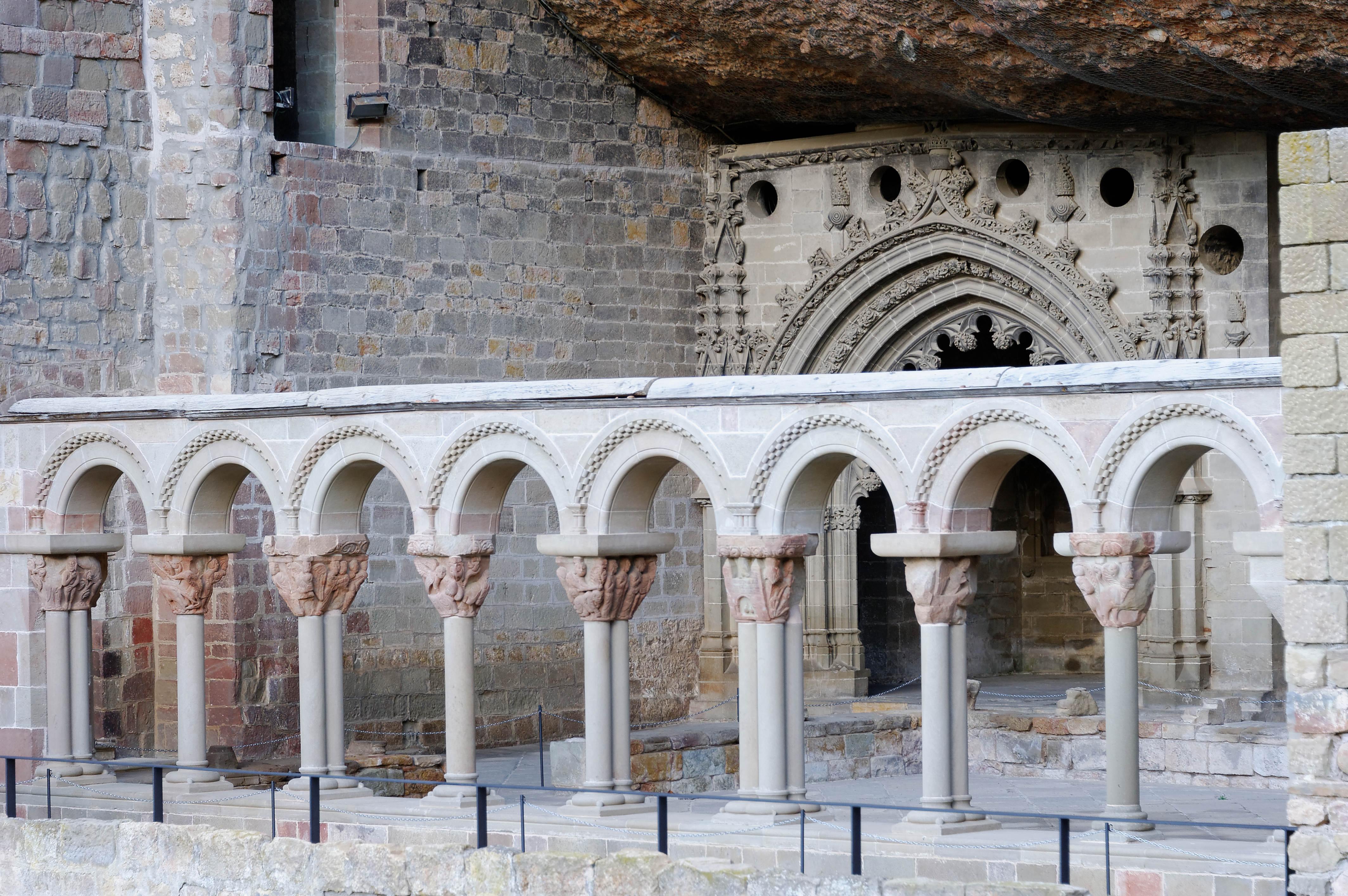 3776_ancien  San Juan de la Pena (Aragon)