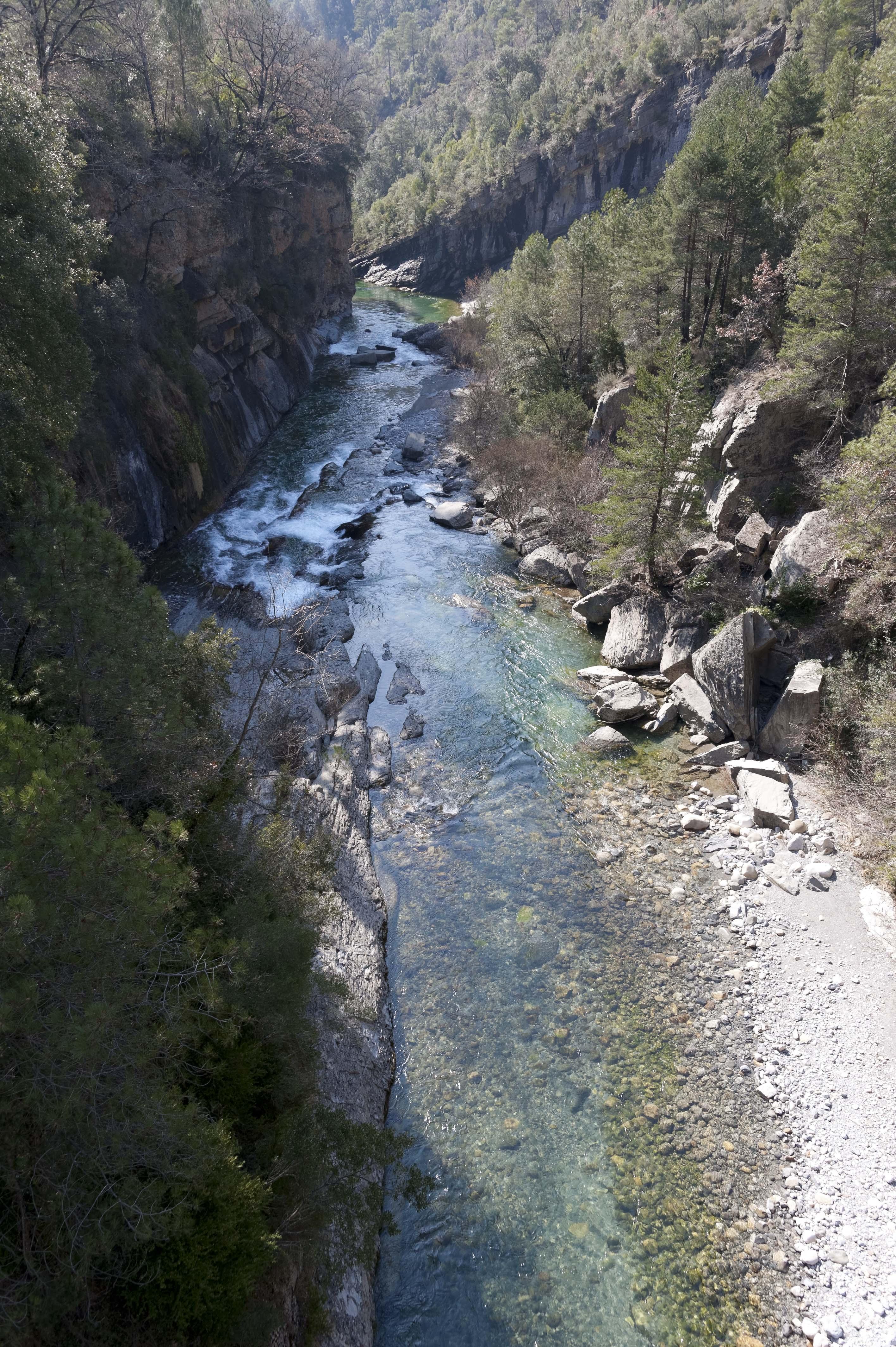 5243_Canyon de Anisclo (Sobrarbe Aragon)