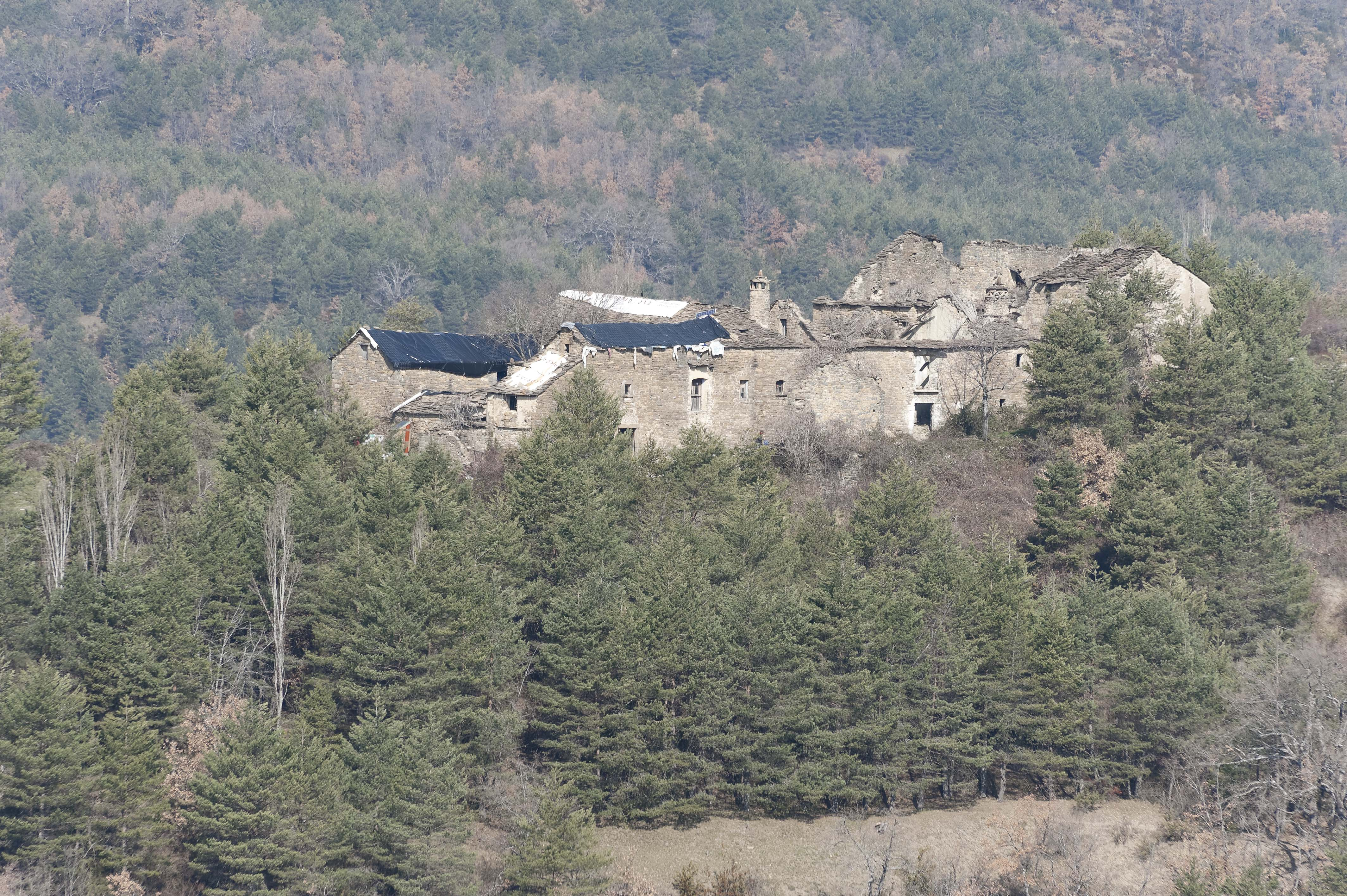 5436_vers San Felices de Ara (Sobrarbe Aragon)