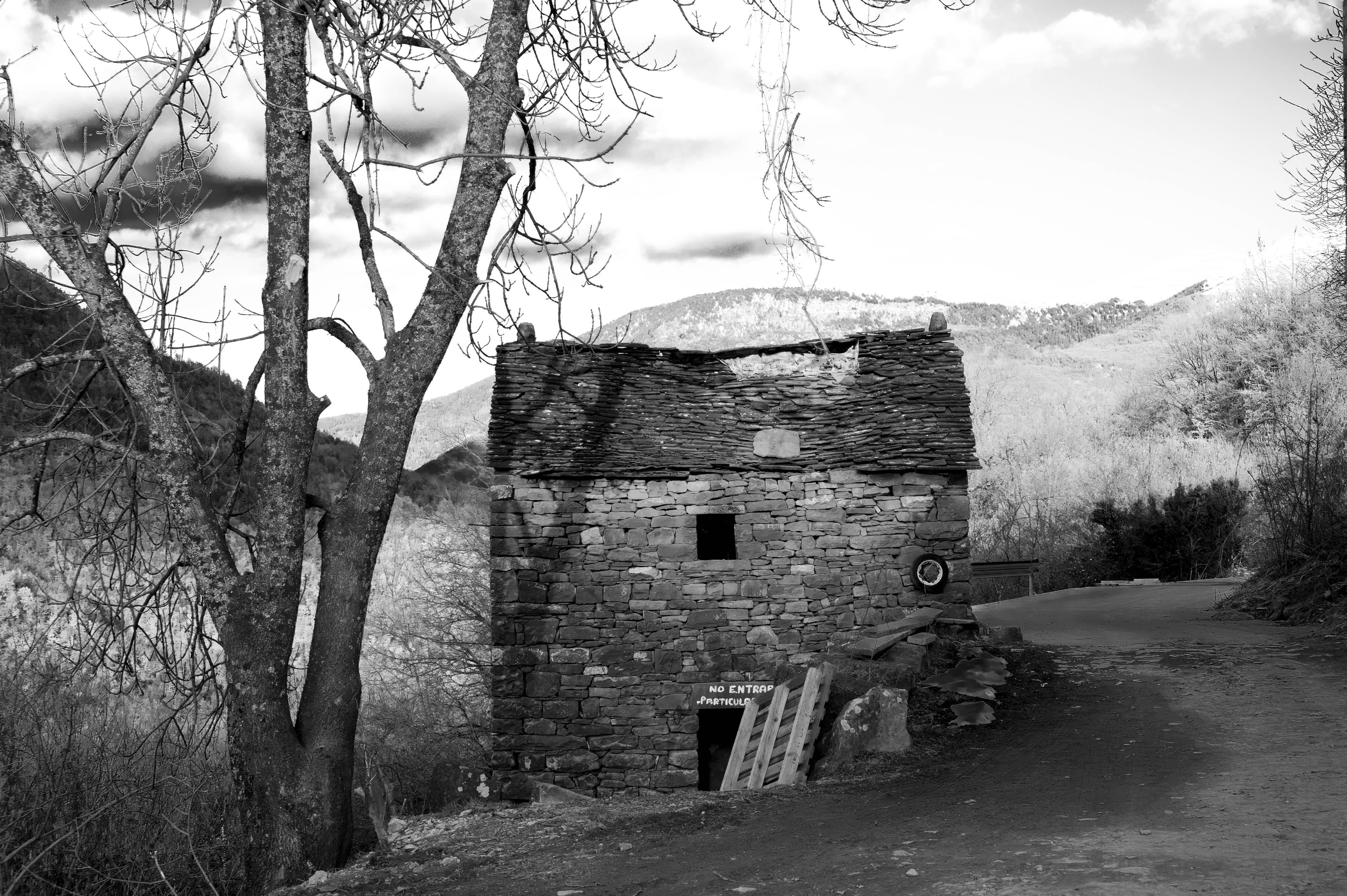 5637NB_vue de la route de Bergua (Sobrarbe Aragon)