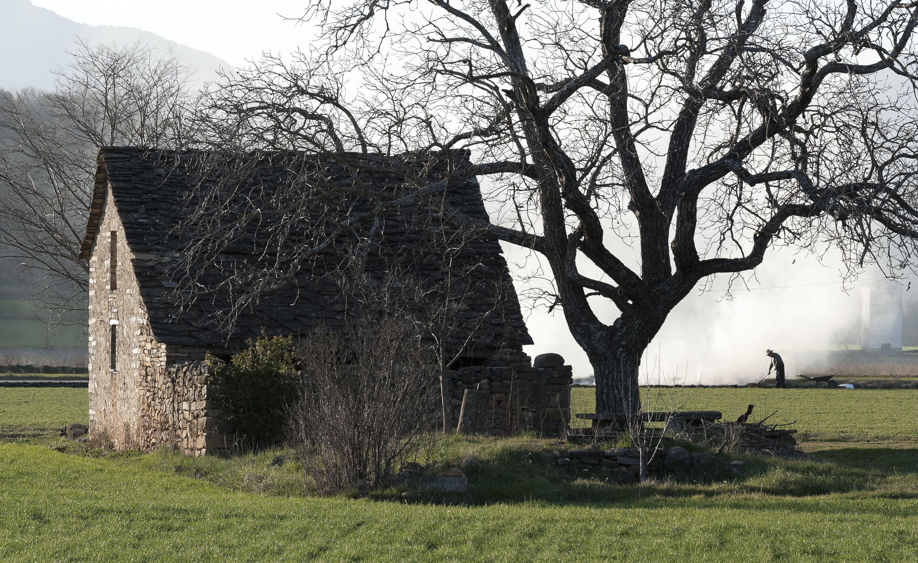 5826-2_en bas d'Ainsa (Sobrarbe Aragon)