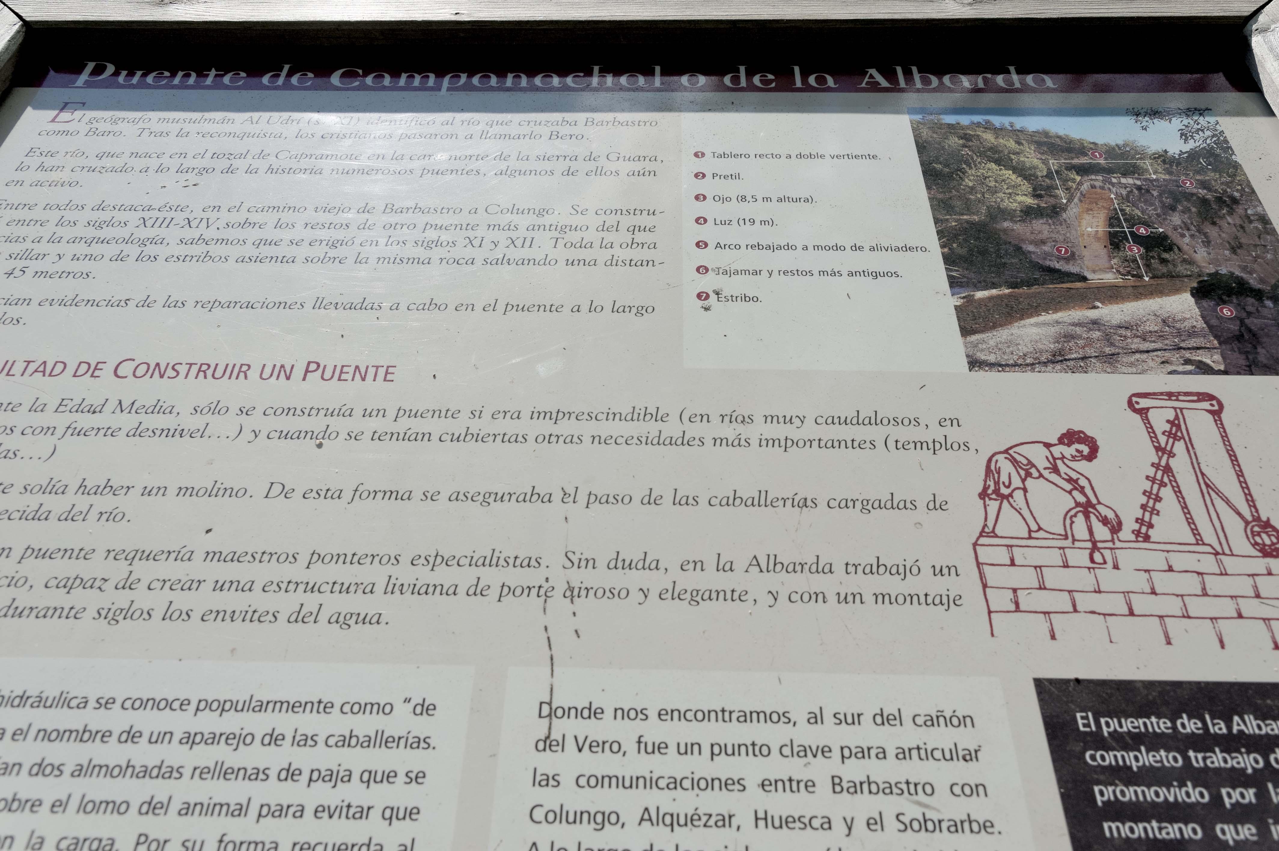 6934_Puente de Campanachal ou de la Albarda (Somontano)