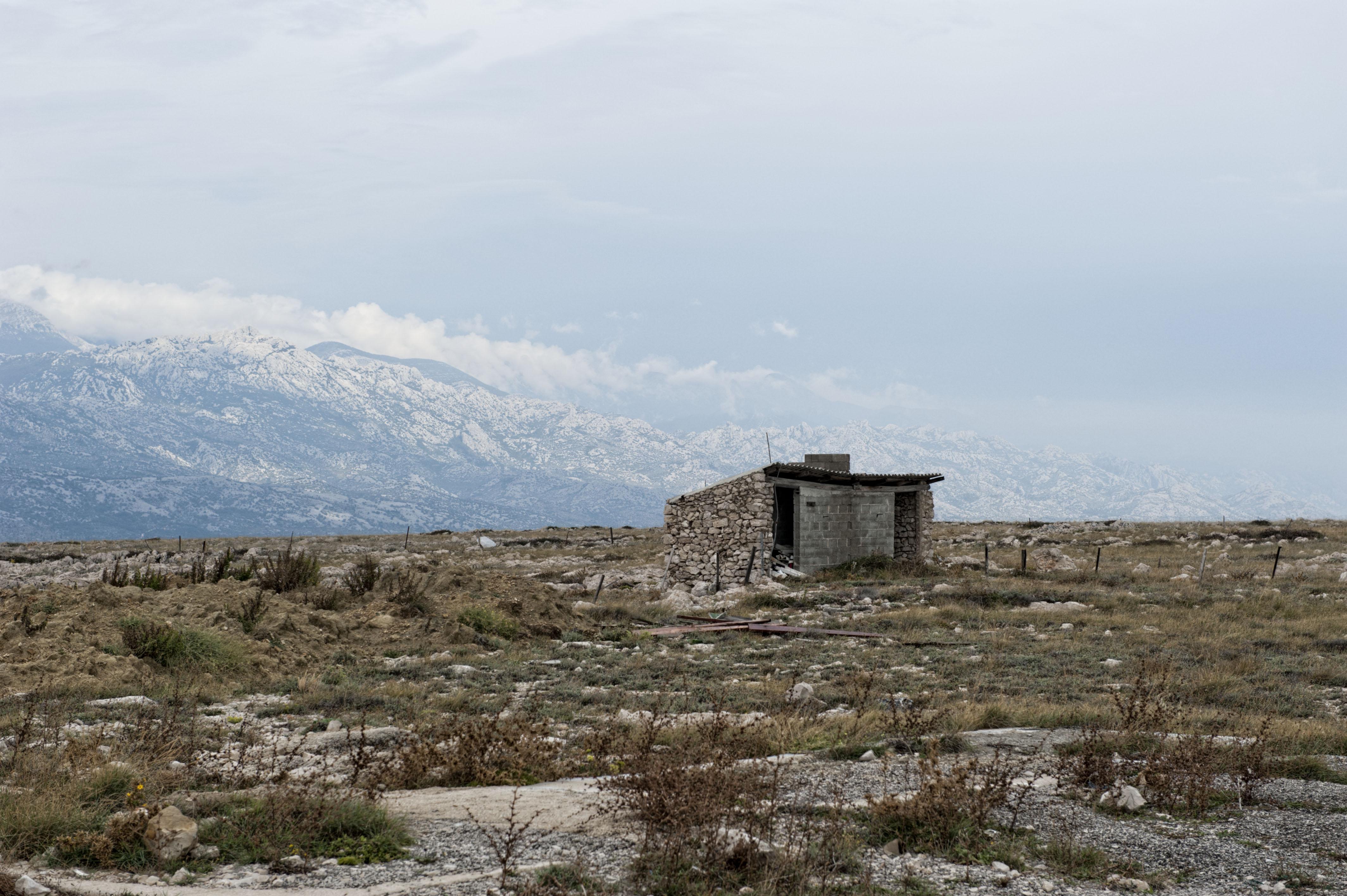 9239-Ile de Pag (Nord Dalmatie)