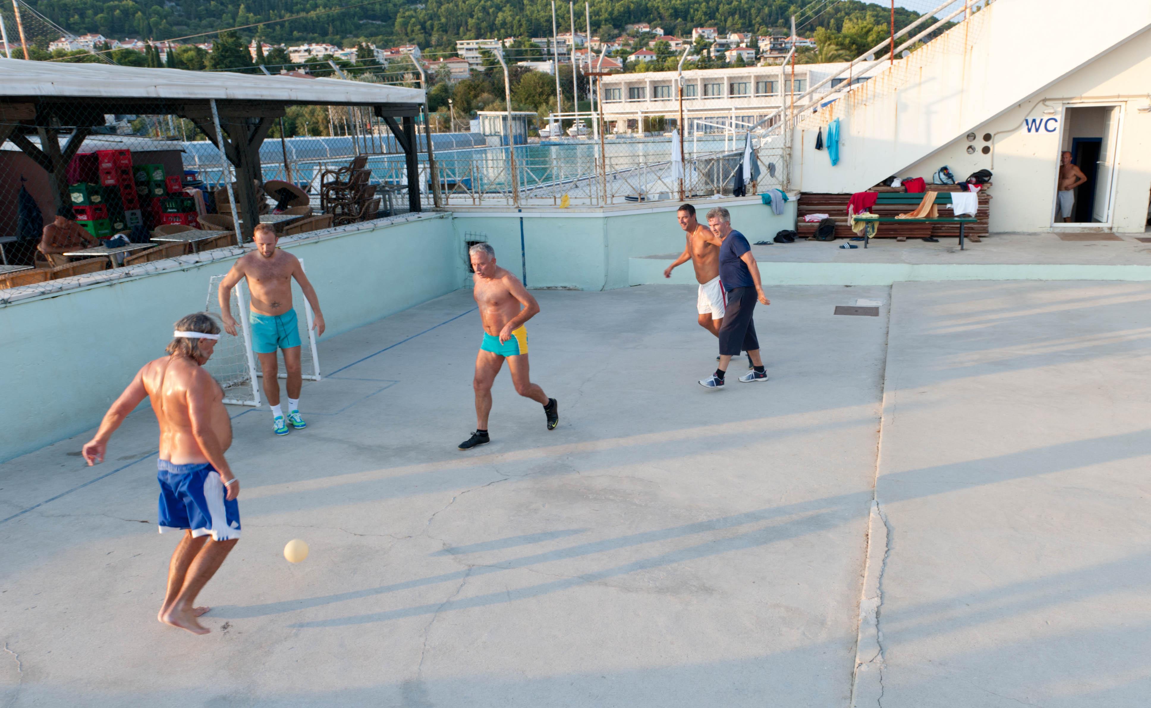 0310-Split - Jadran Balunjeri club house (Dalmatie centrale)