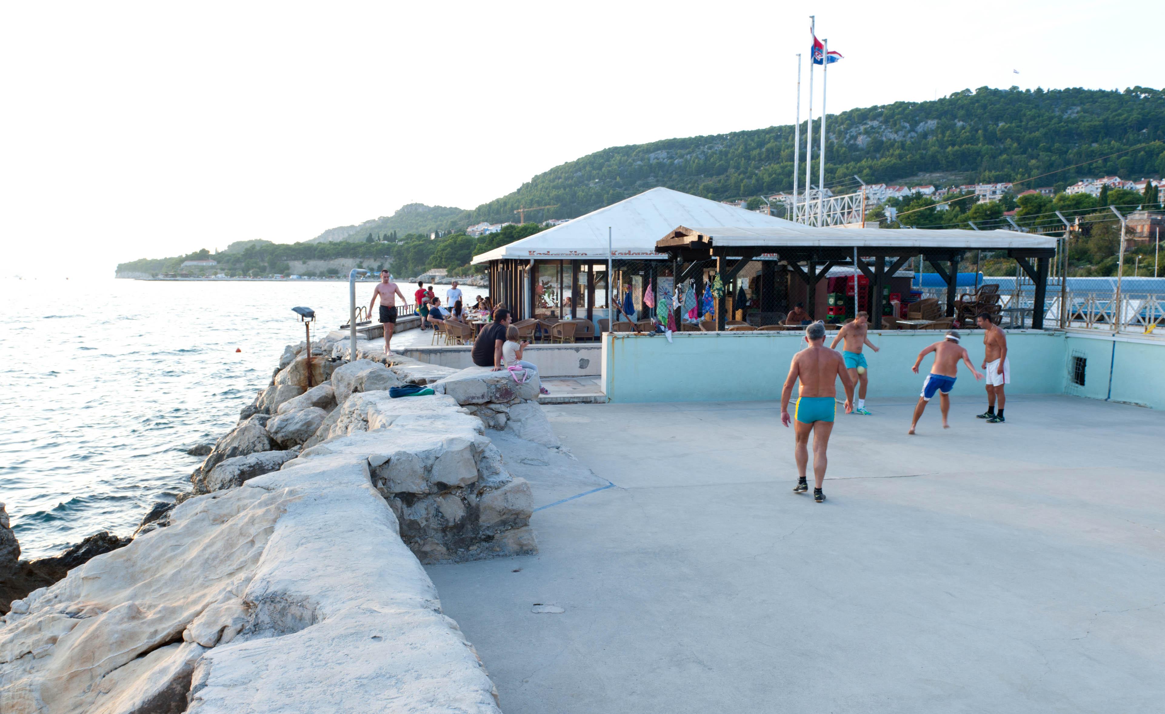 0313-Split - Jadran Balunjeri club house (Dalmatie centrale)