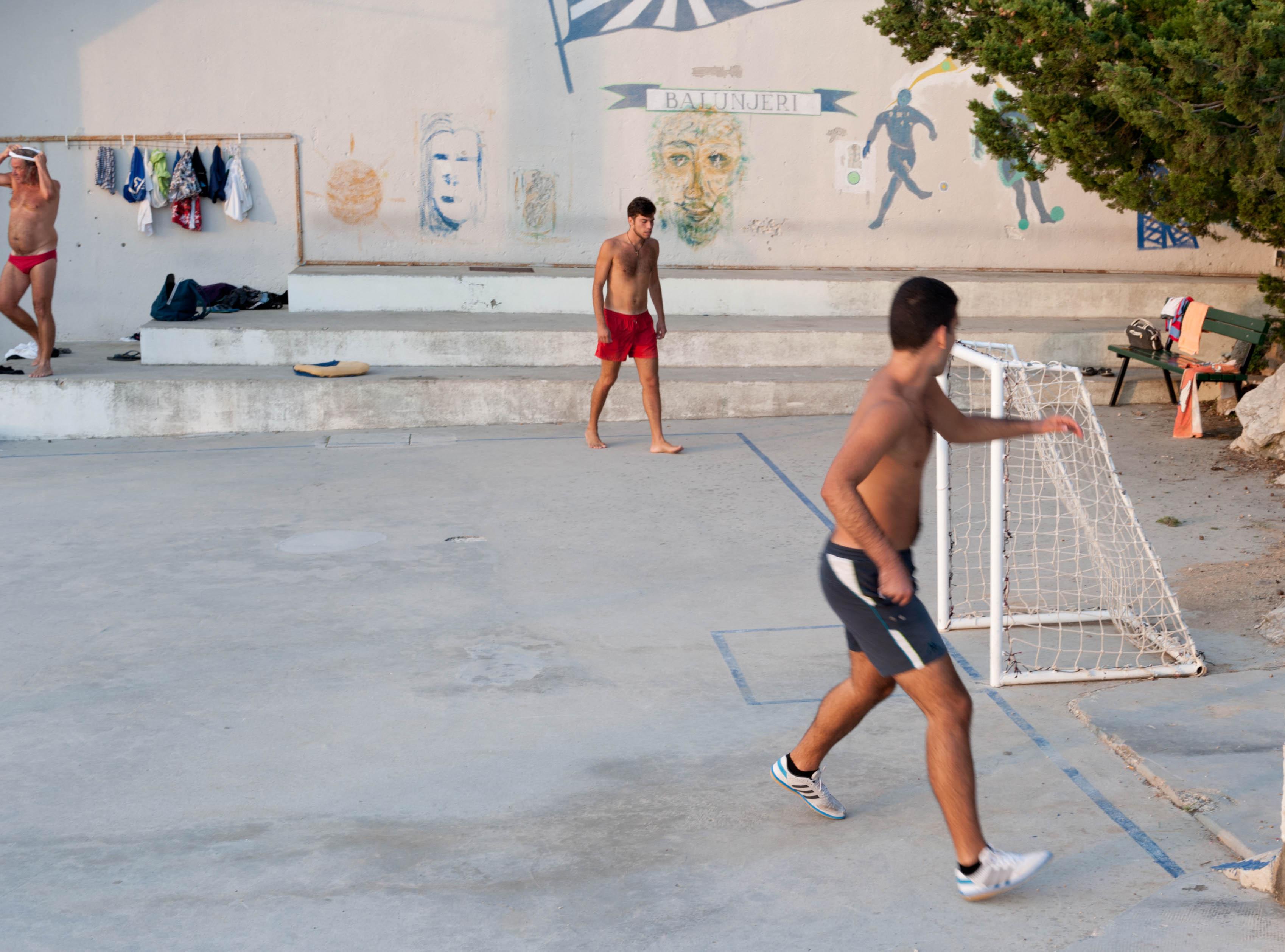 0319-Split - Jadran Balunjeri club house (Dalmatie centrale)