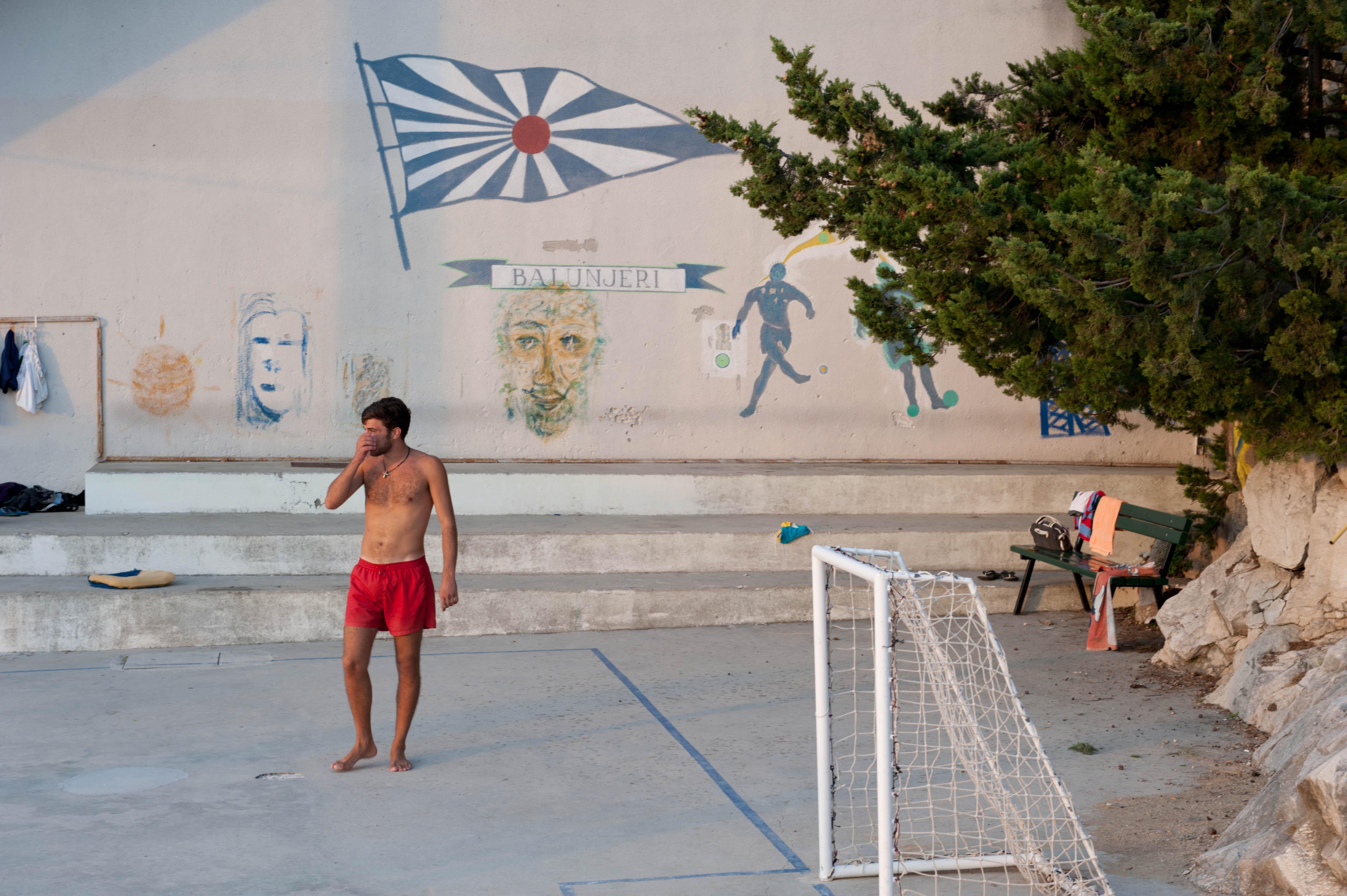0320-Split - Jadran Balunjeri club house (Dalmatie centrale)