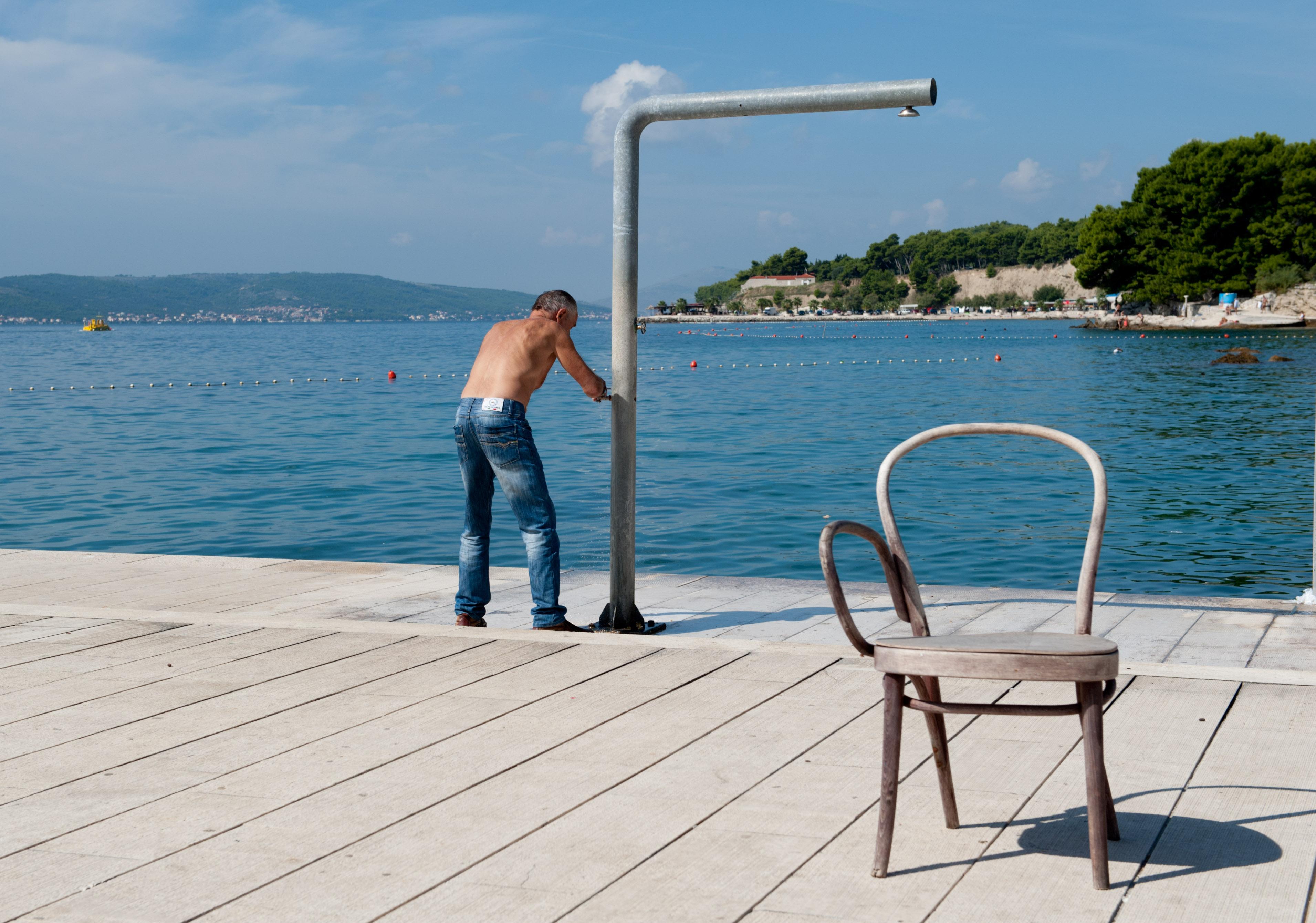 0435-Split - Jadran Balunjeri club house (Dalmatie centrale)