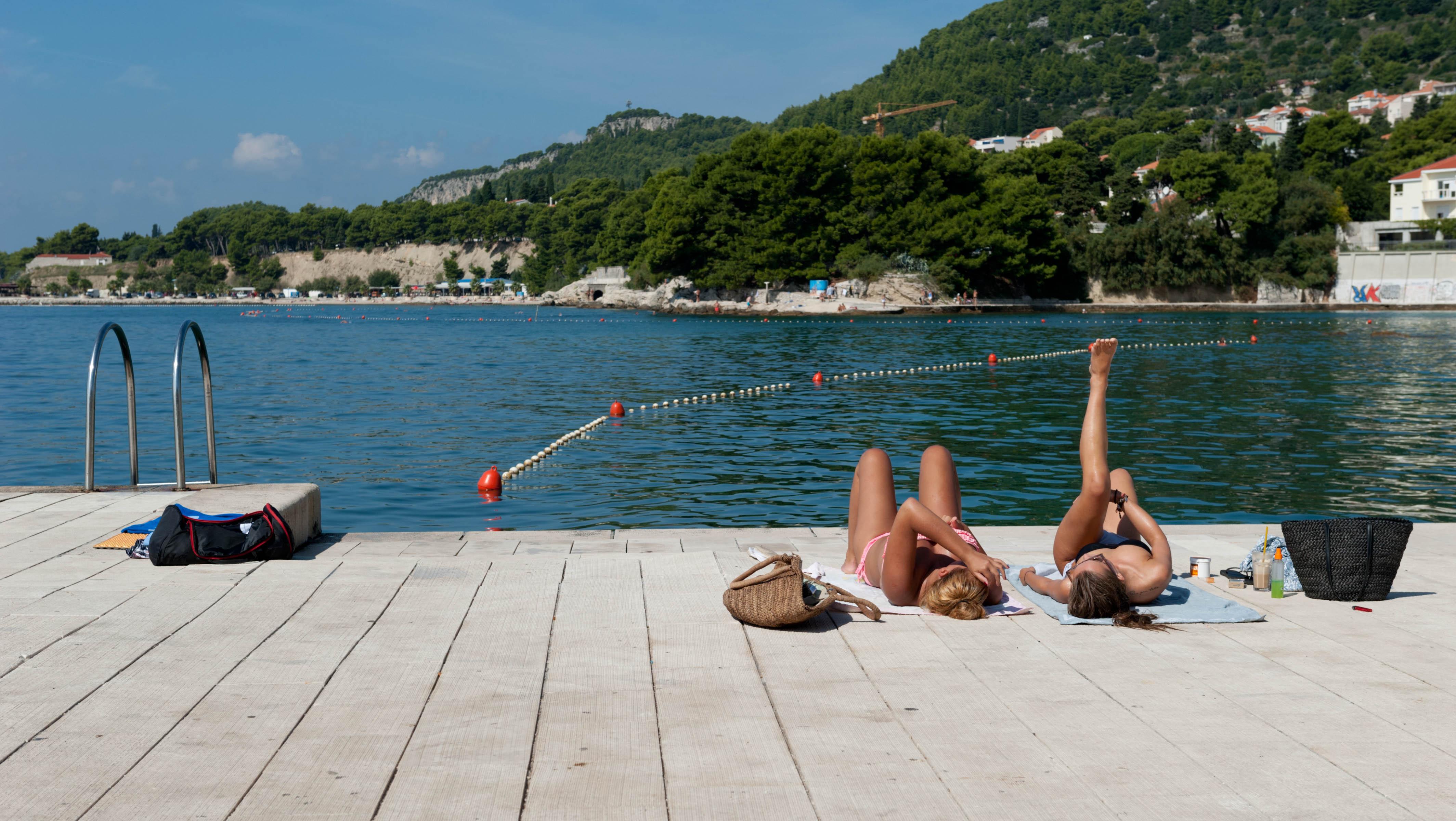0437-Split - Jadran Balunjeri club house (Dalmatie centrale)