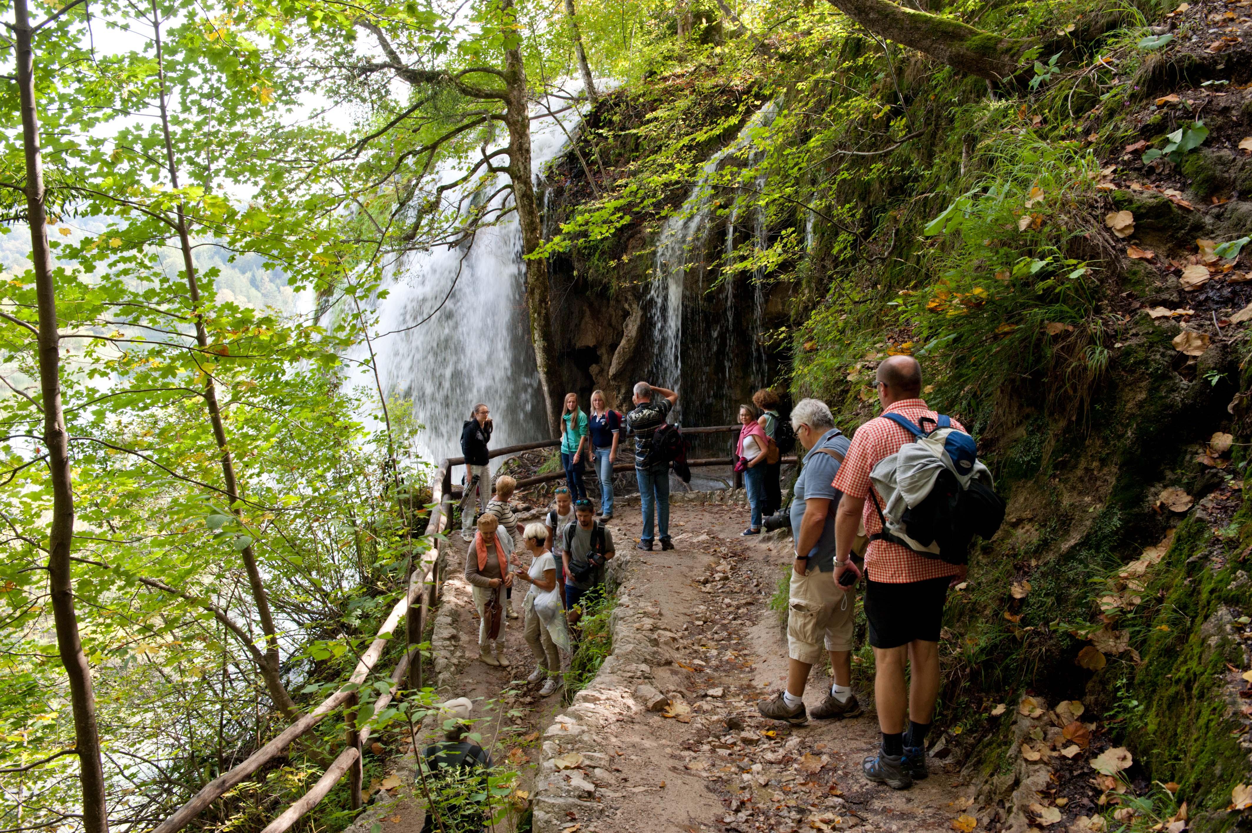 0553-Parc national lacs de Plitvice (Lika-Croatie)