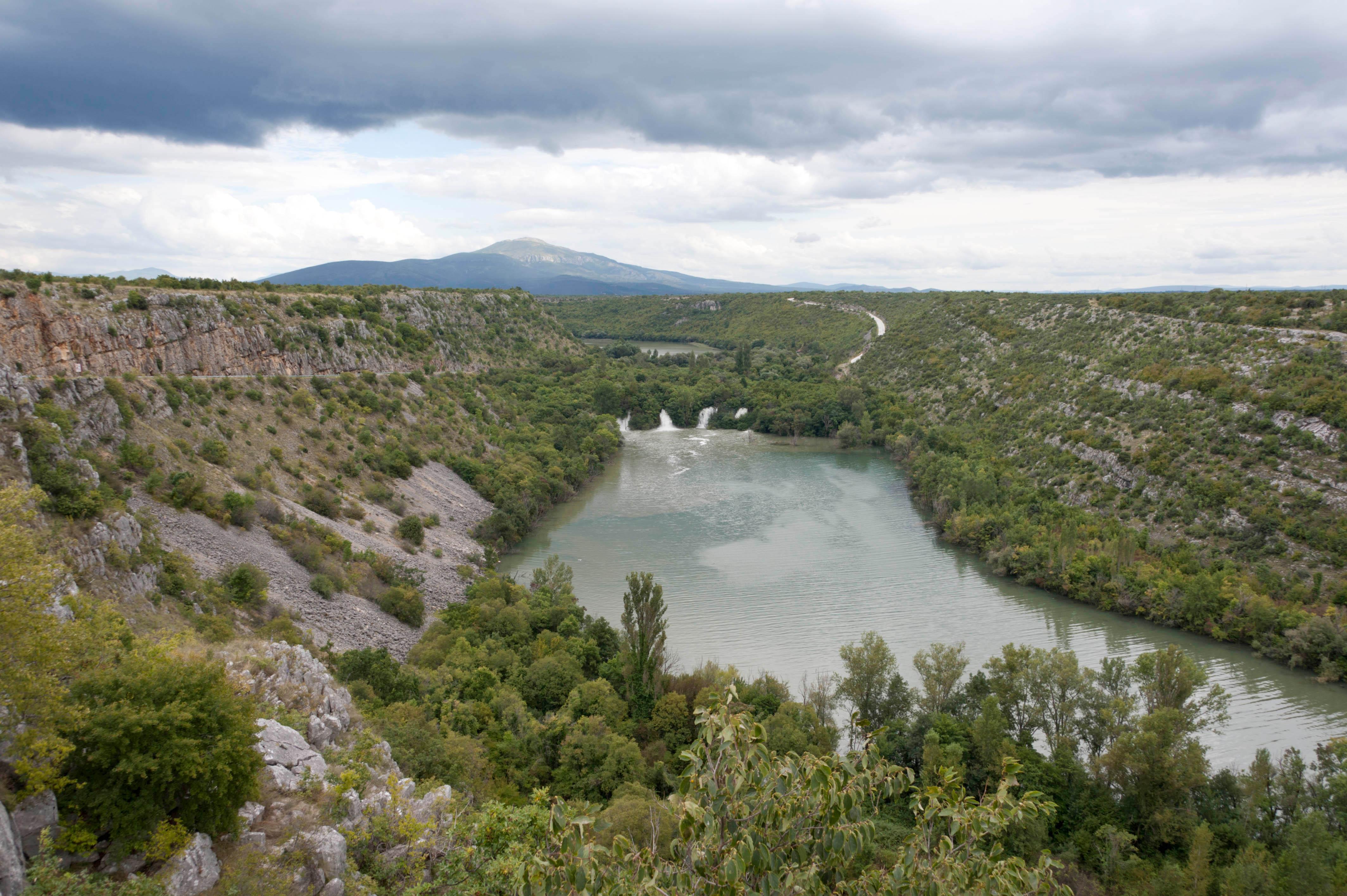 9525-Parc national Krka (Dalmatie du Nord)