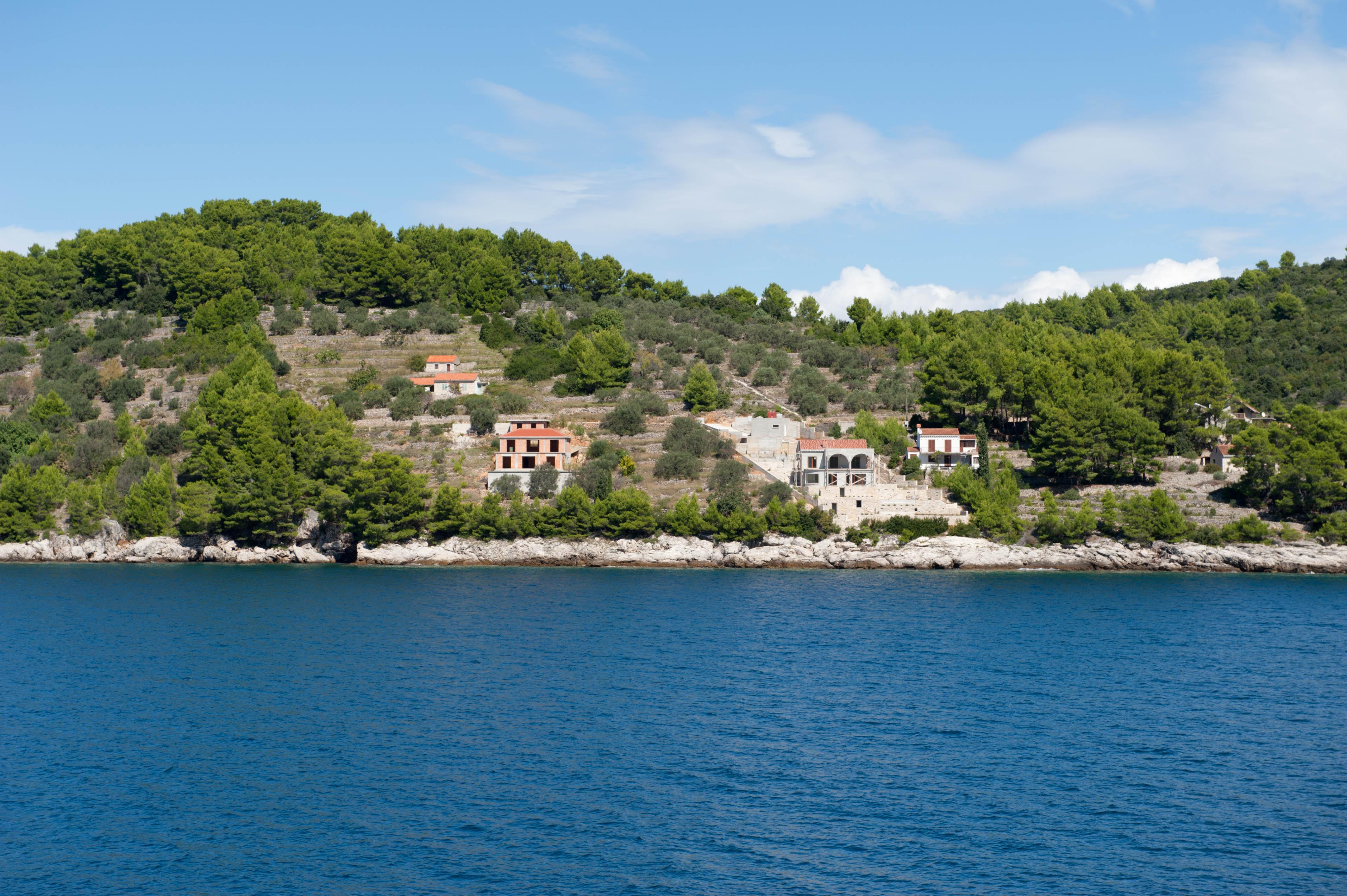 9890-Vela Luka - ile Korcula (Sud Dalmatie)