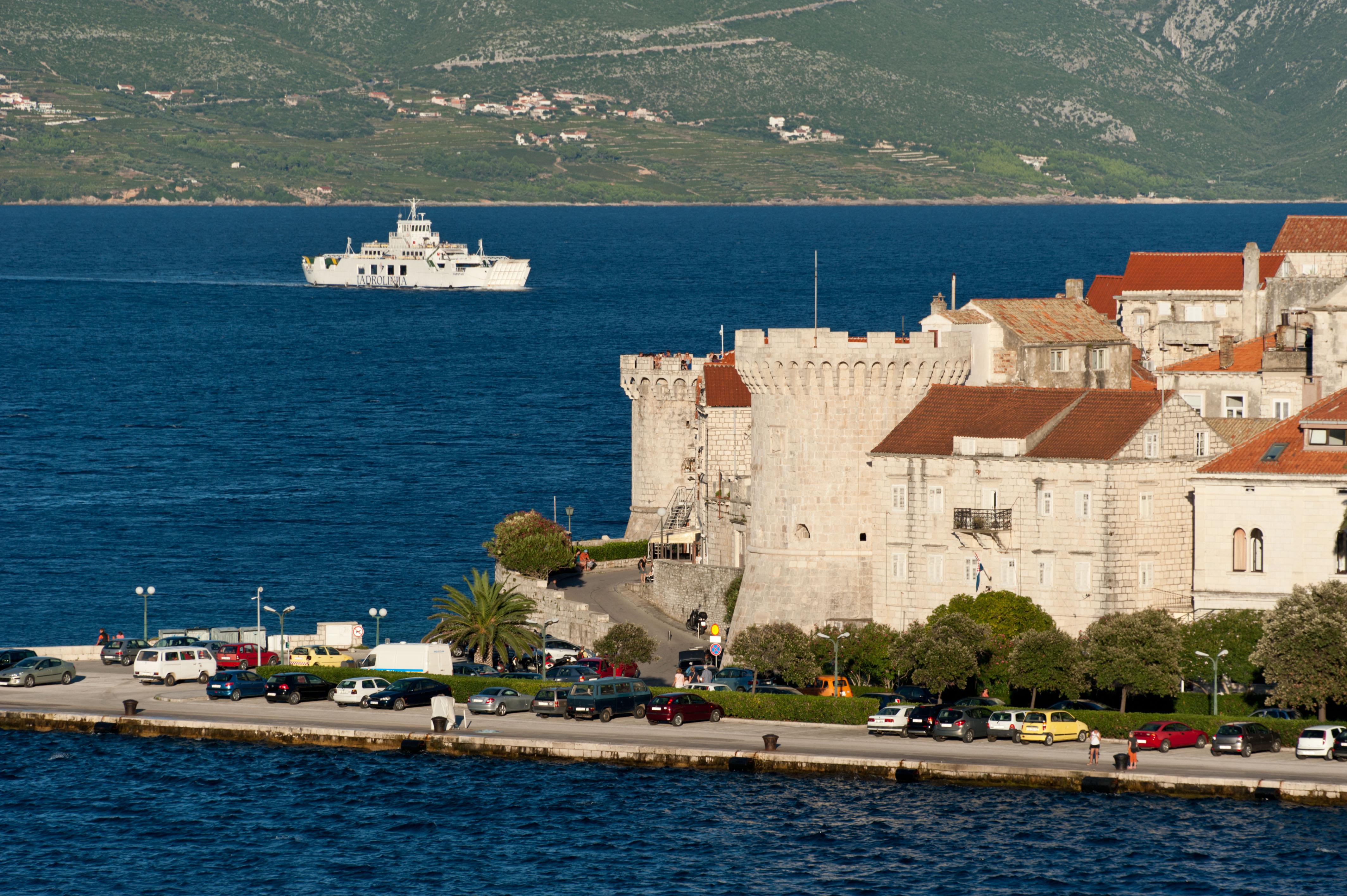 9958-Korcula - ile Korcula (Sud Dalmatie)