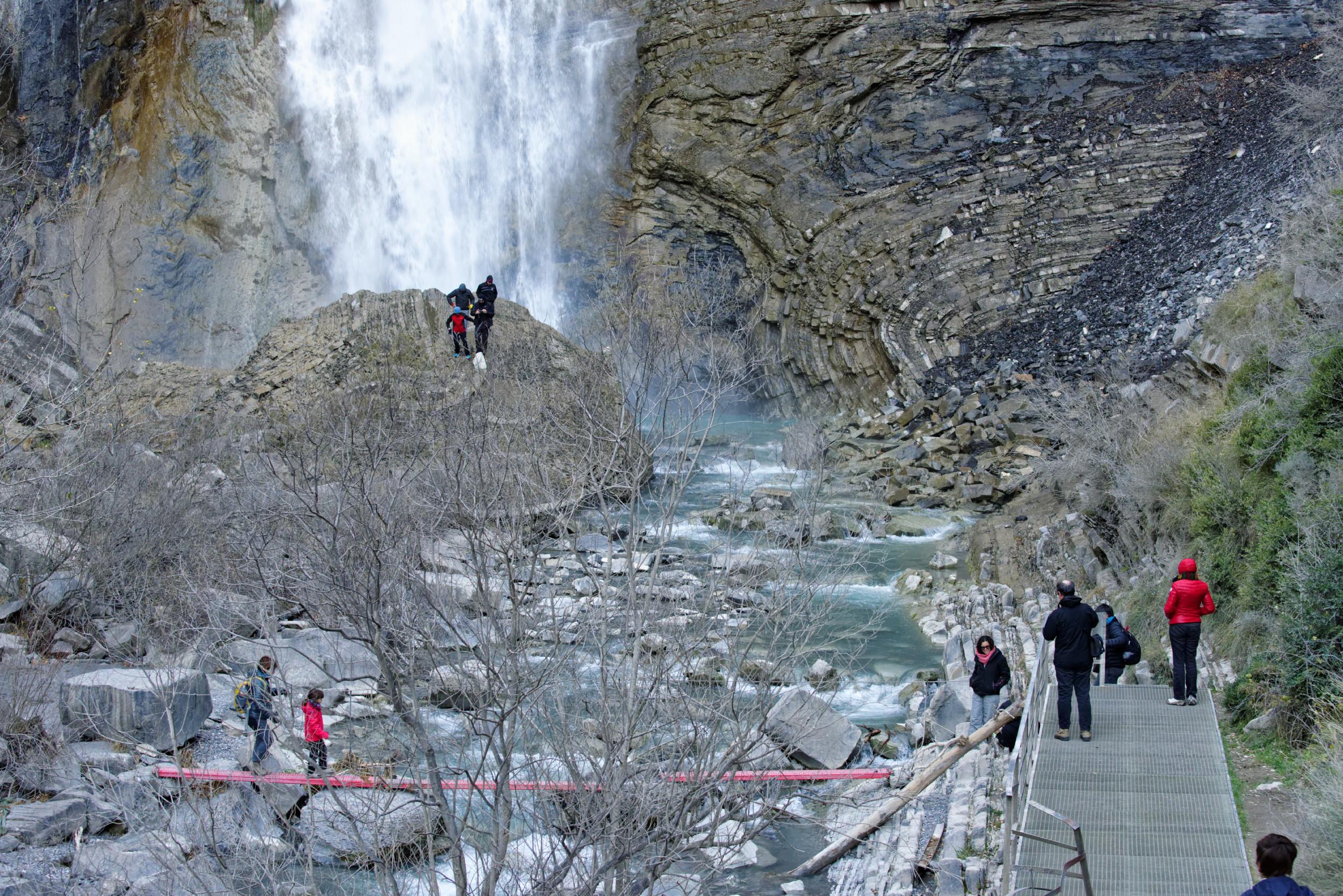 141207-Broto cascade de  Sorrosal (Sobrarbe) (14)
