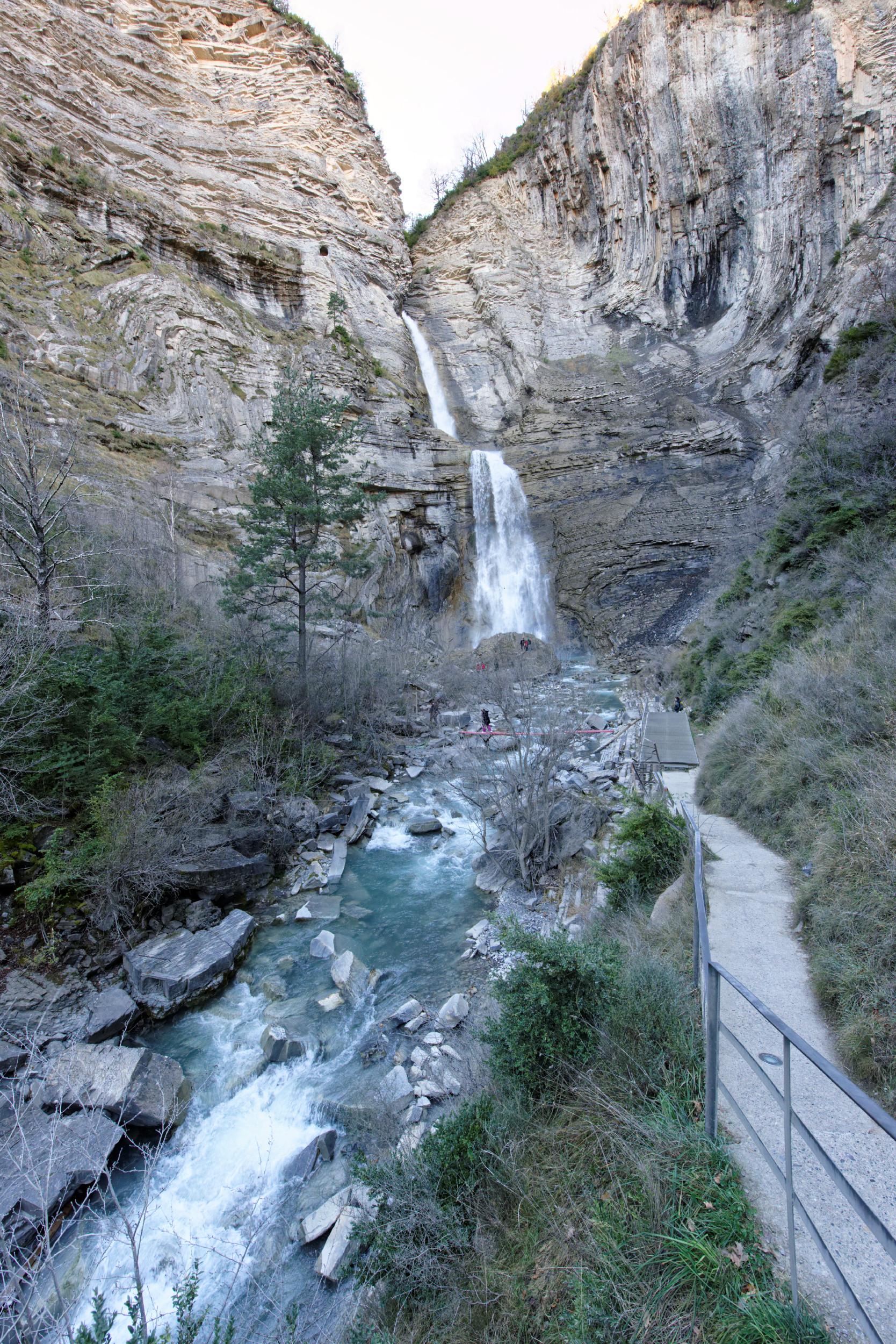 141207-Broto cascade de  Sorrosal (Sobrarbe) (16)