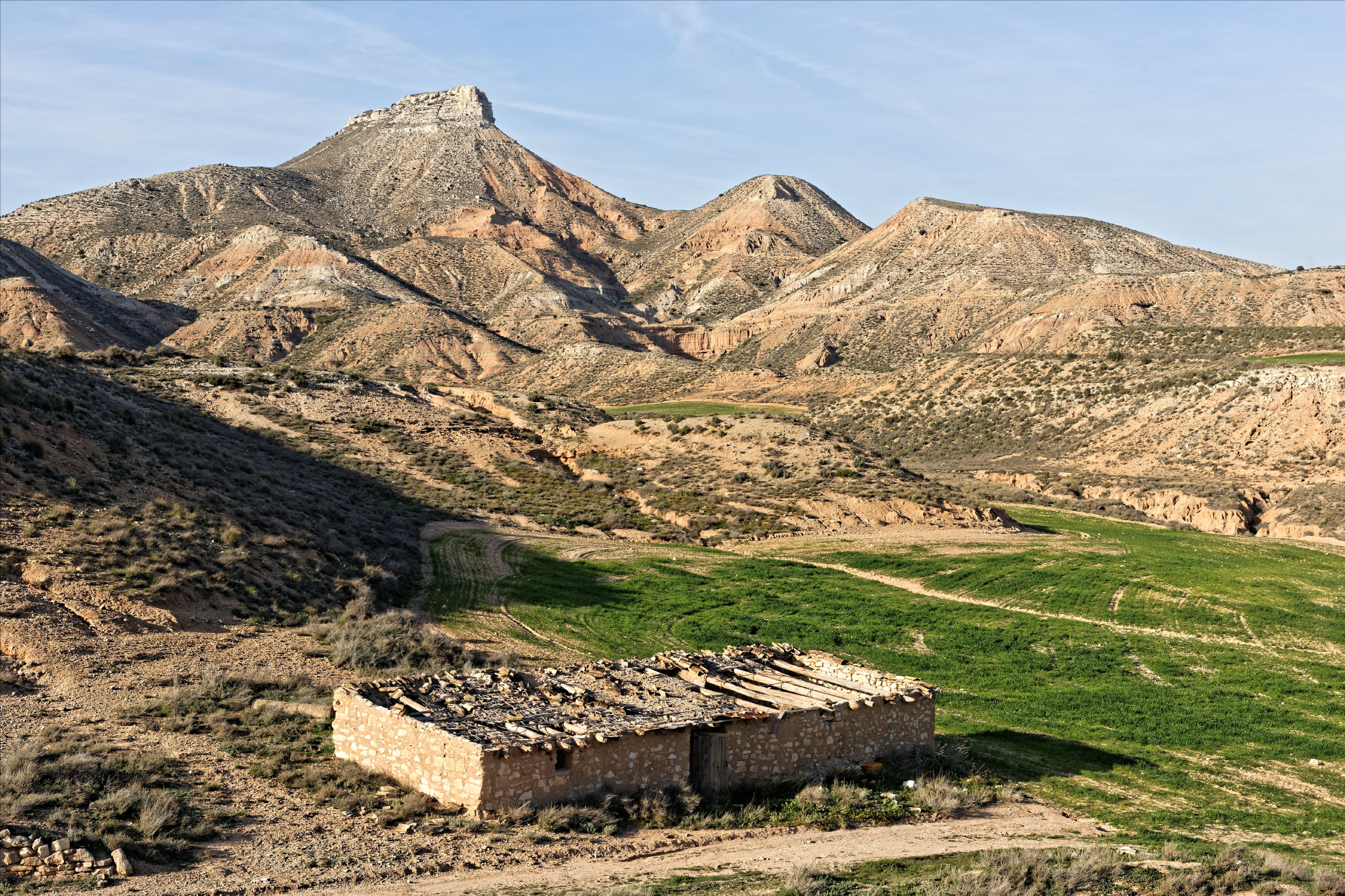 150310-Vers El Fraile  (Bardenas La negra) (22)