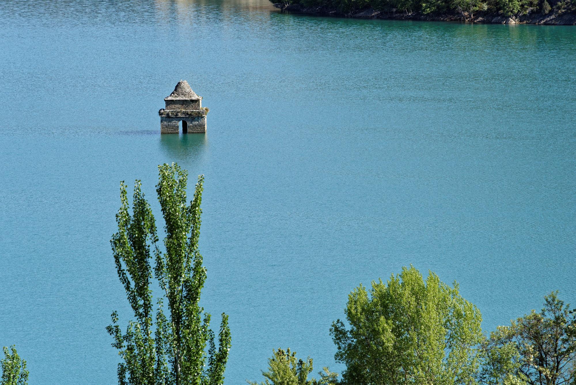 150428-Lac Mediano - Chateau Samitier - Liguerre de Cinca (Sobrarbe) (116)