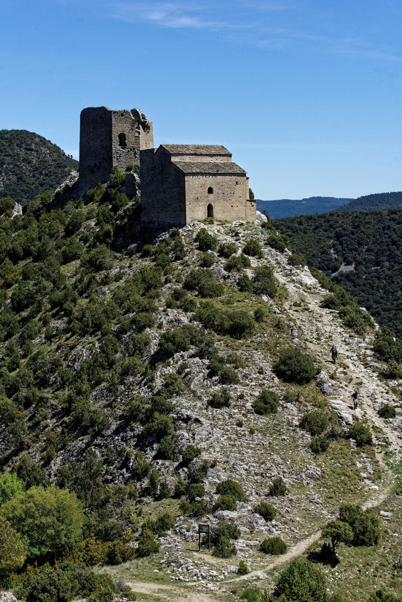 150428-Lac Mediano - Chateau Samitier - Liguerre de Cinca (Sobrarbe) (145)