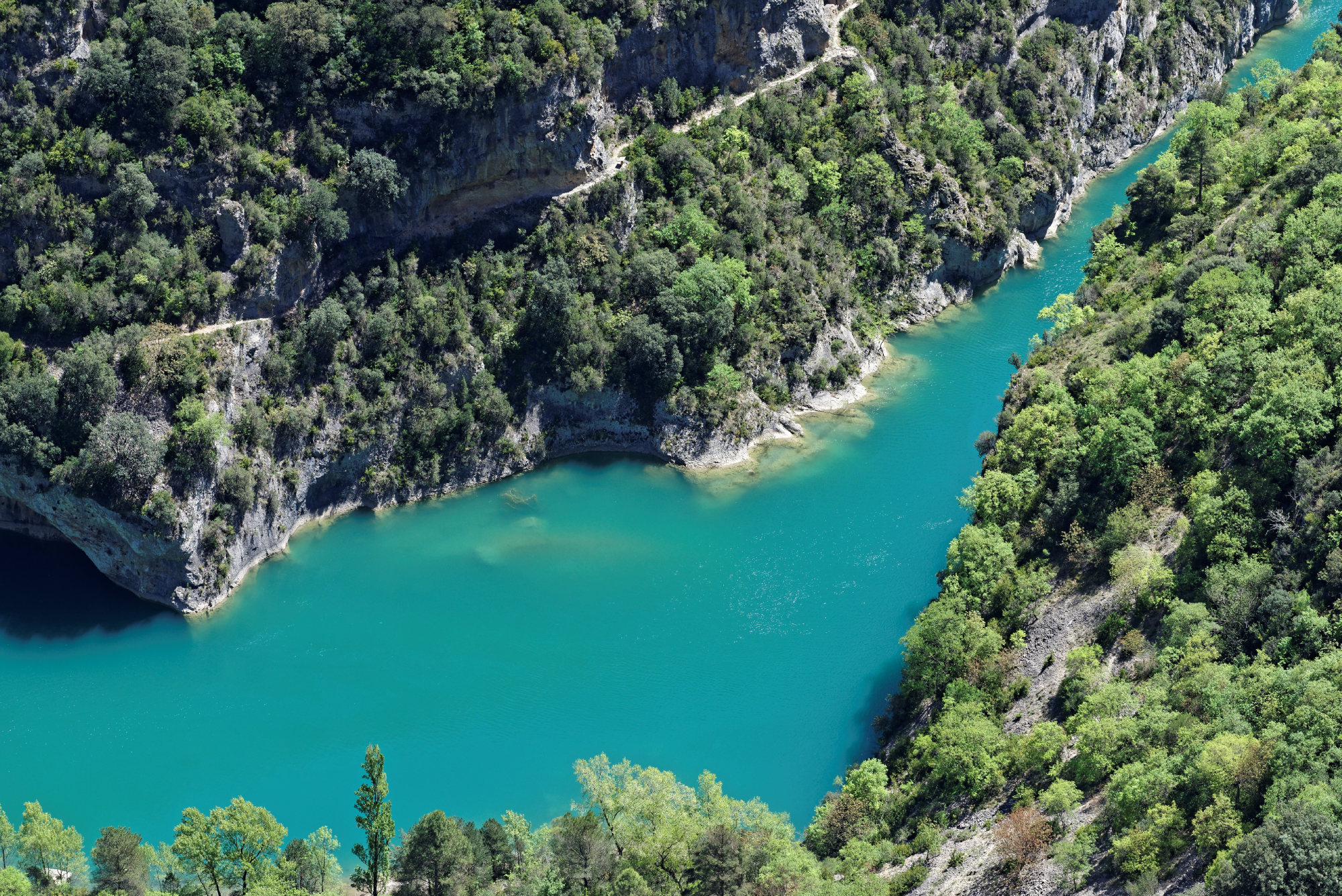 150428-Lac Mediano - Chateau Samitier - Liguerre de Cinca (Sobrarbe) (149)