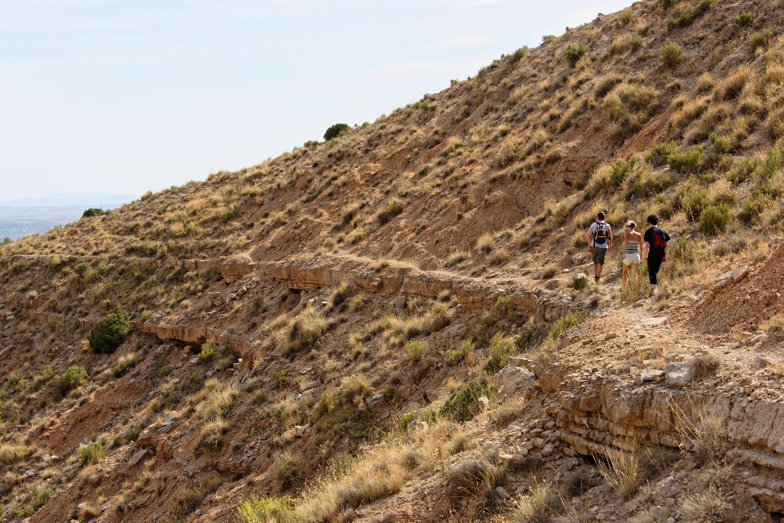 (7004) Ascension du Cabezo del Fraile - Bardenas La Negra
