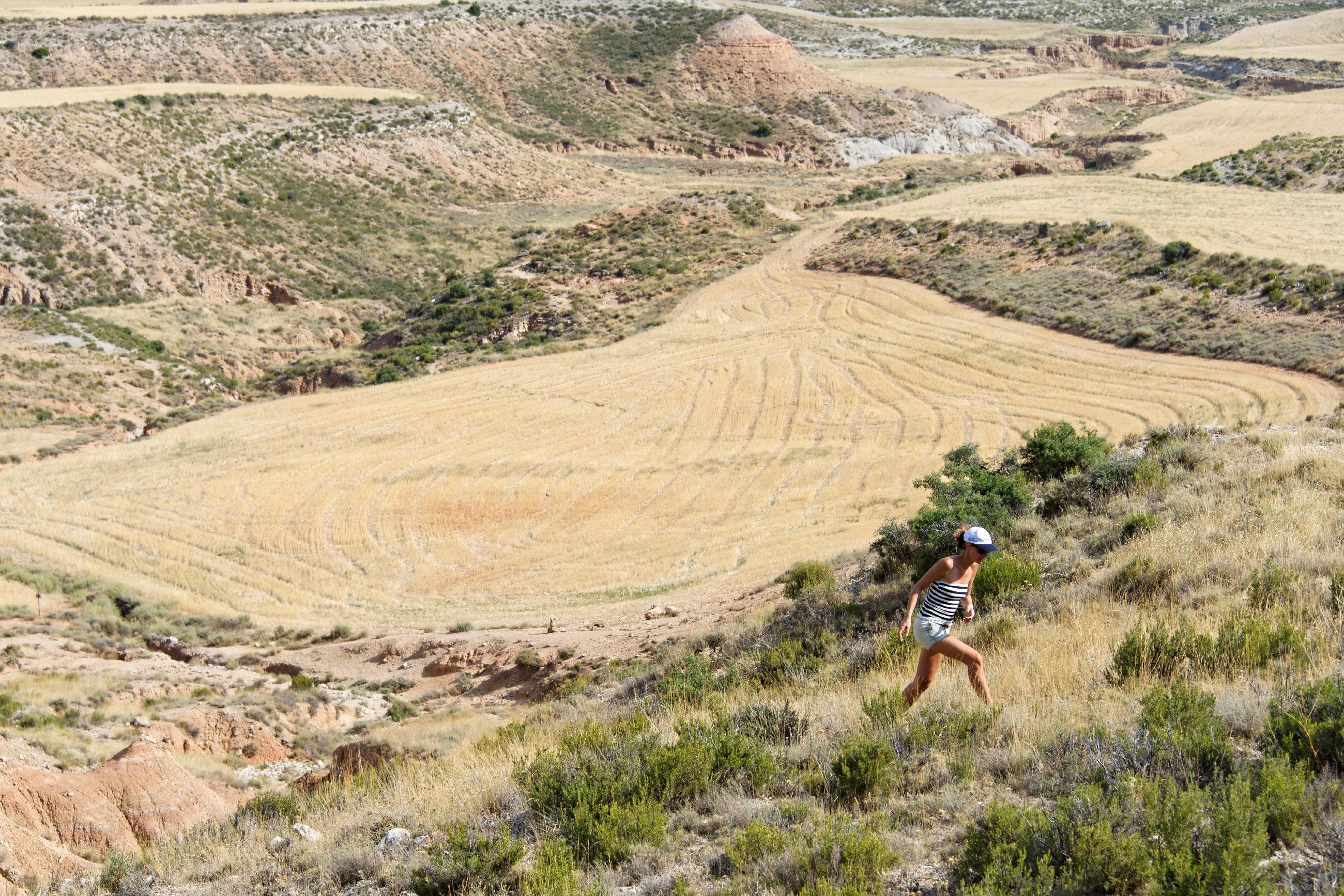 (7006) Ascension du Cabezo del Fraile - Bardenas La Negra