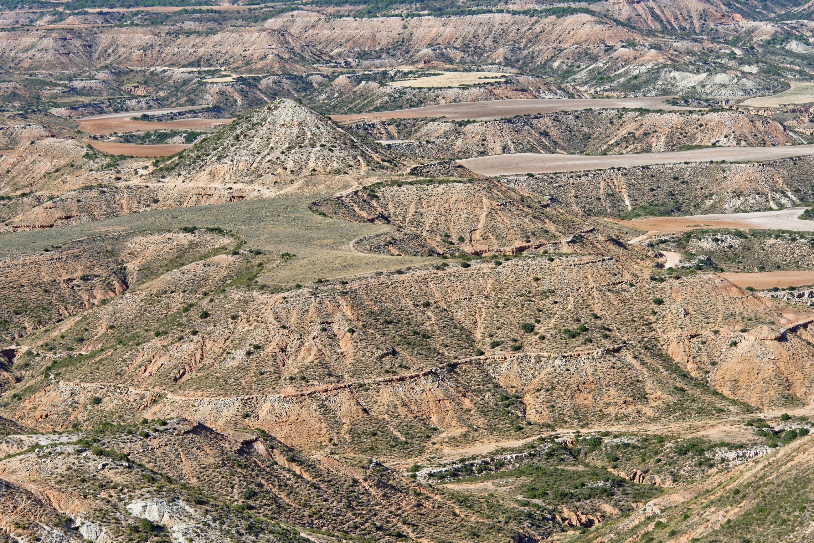 (7012) Ascension du Cabezo del Fraile - Bardenas La Negra