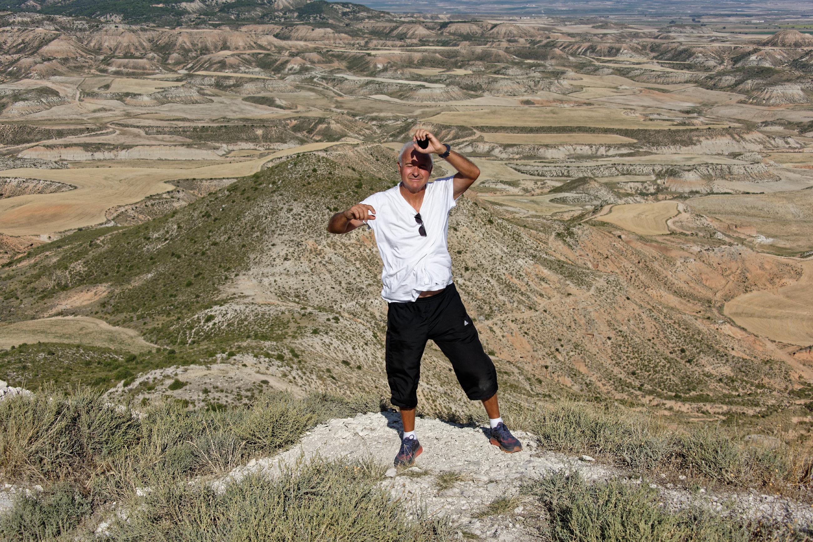(7016) Ascension du Cabezo del Fraile - Bardenas La Negra