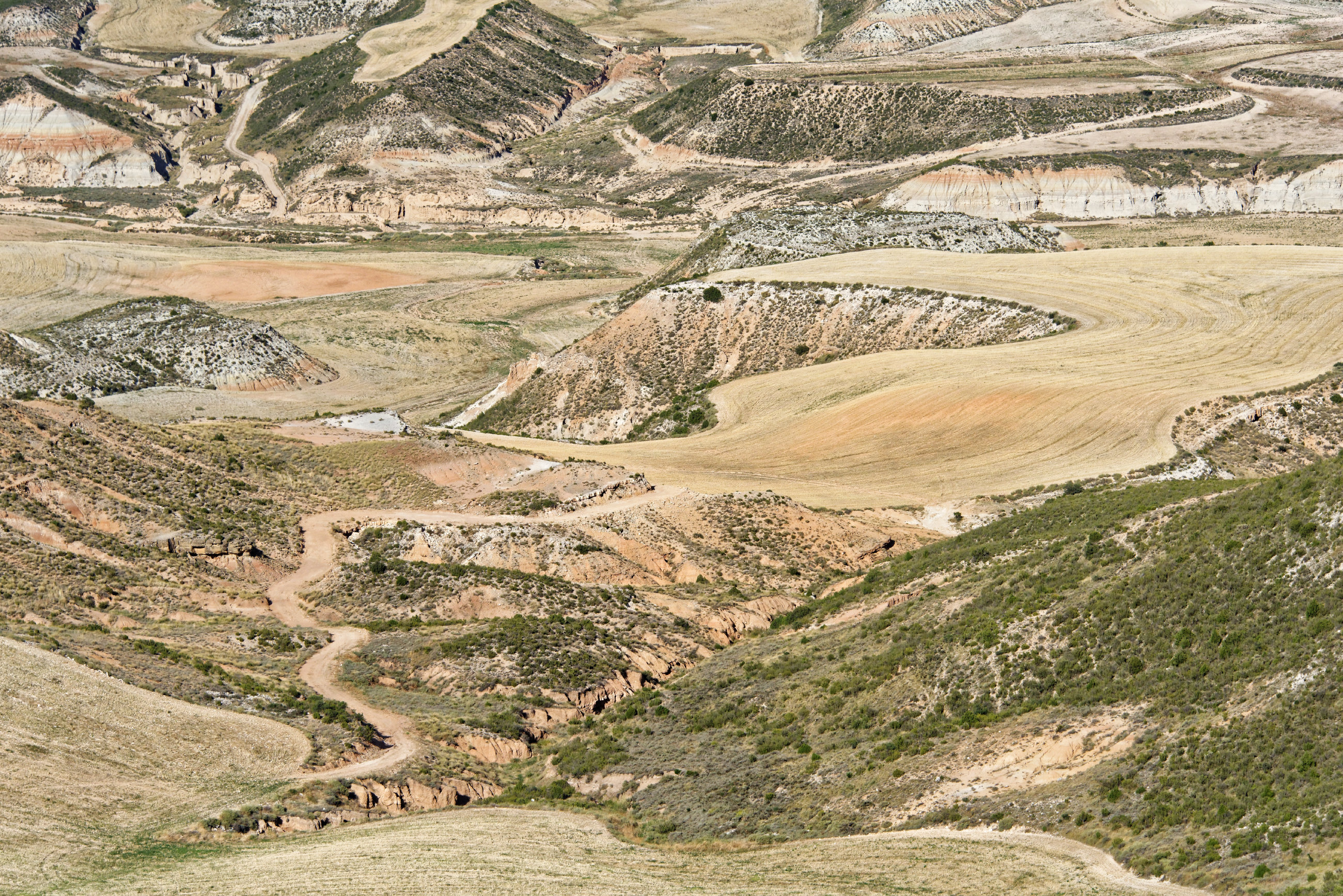 (7020) Ascension du Cabezo del Fraile - Bardenas La Negra