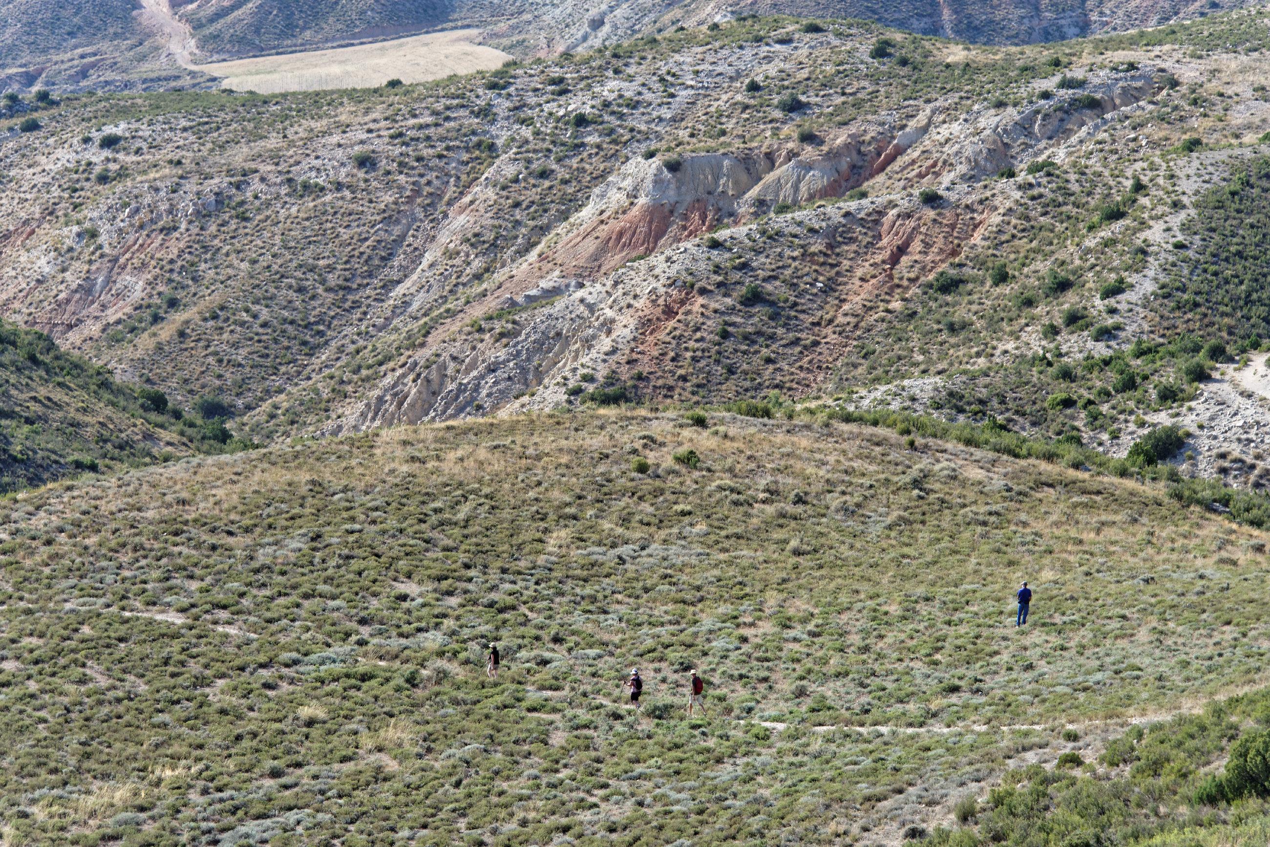 (7024) Ascension du Cabezo del Fraile - Bardenas La Negra
