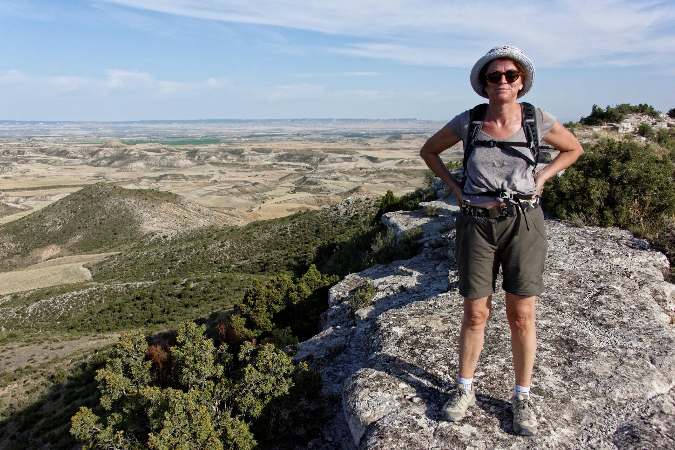 (7040) Ascension du Cabezo del Fraile - Bardenas La Negra