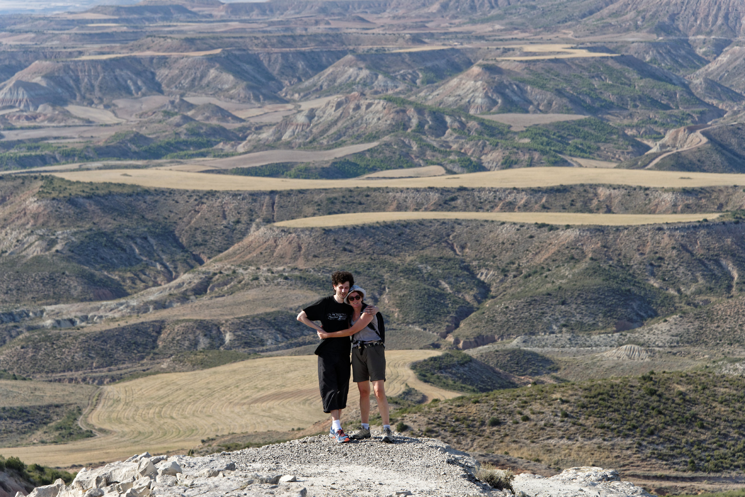(7043) Ascension du Cabezo del Fraile - Bardenas La Negra