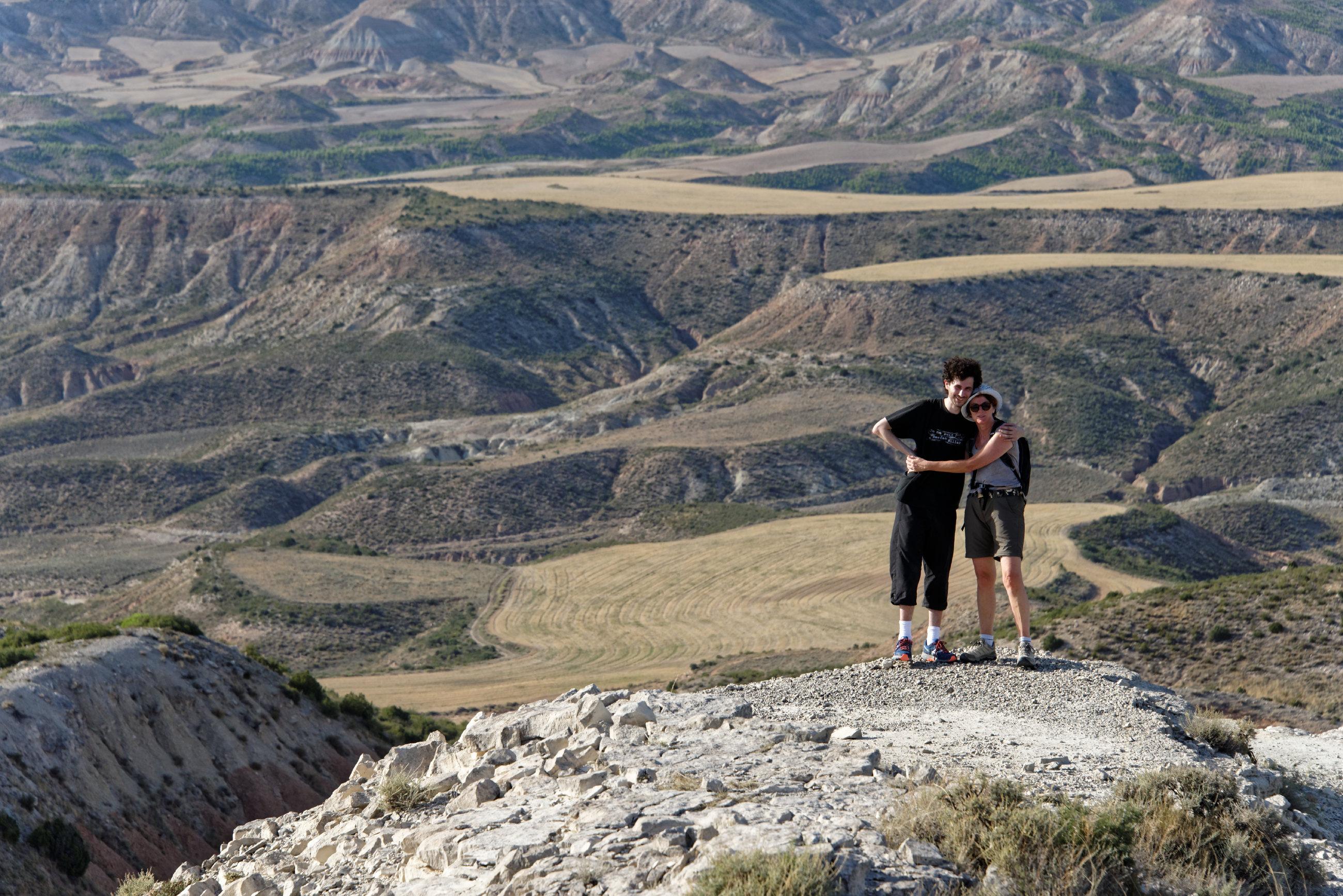 (7044) Ascension du Cabezo del Fraile - Bardenas La Negra