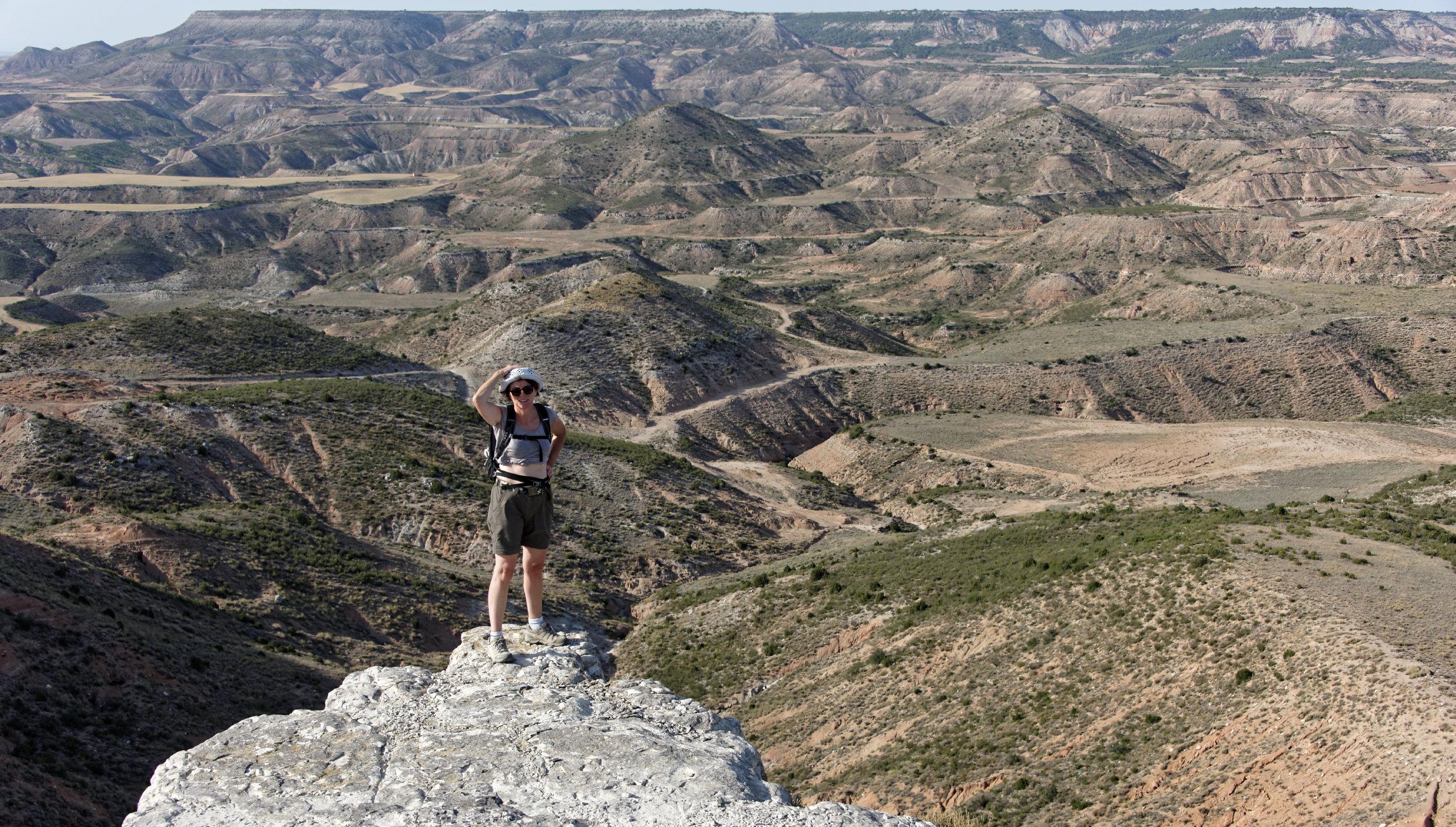 (7048) Ascension du Cabezo del Fraile - Bardenas La Negra