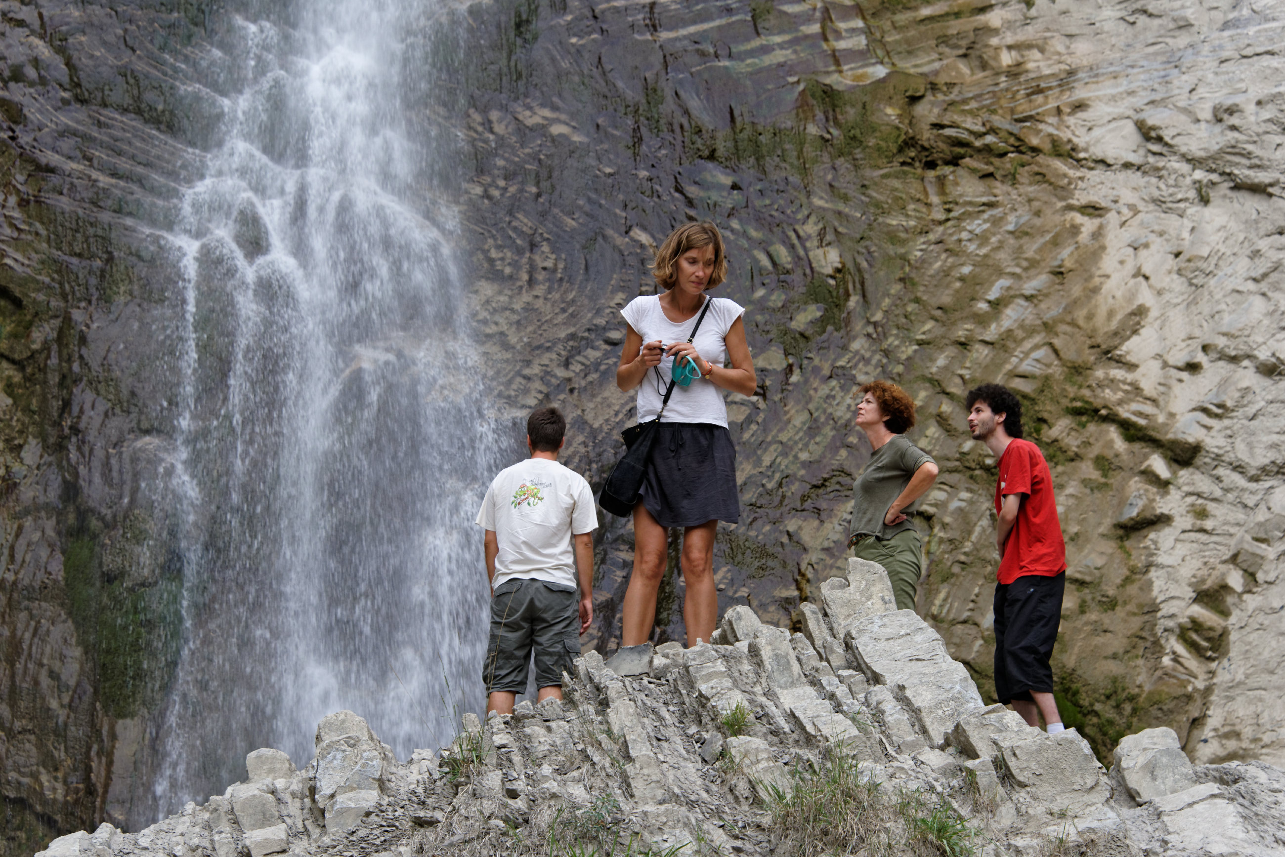 (7279) Broto cascade de Sorrosal (Sobrarbe)
