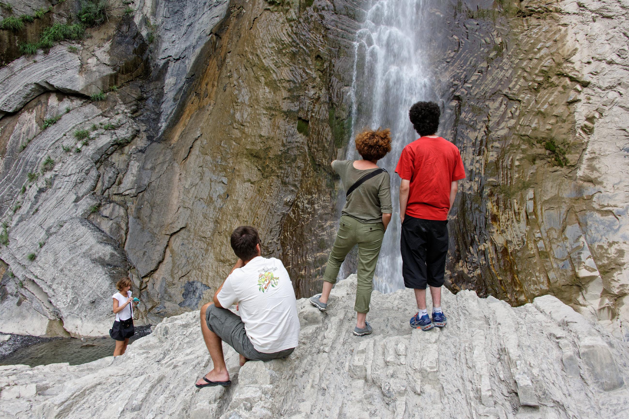(7284) Broto cascade de Sorrosal (Sobrarbe)