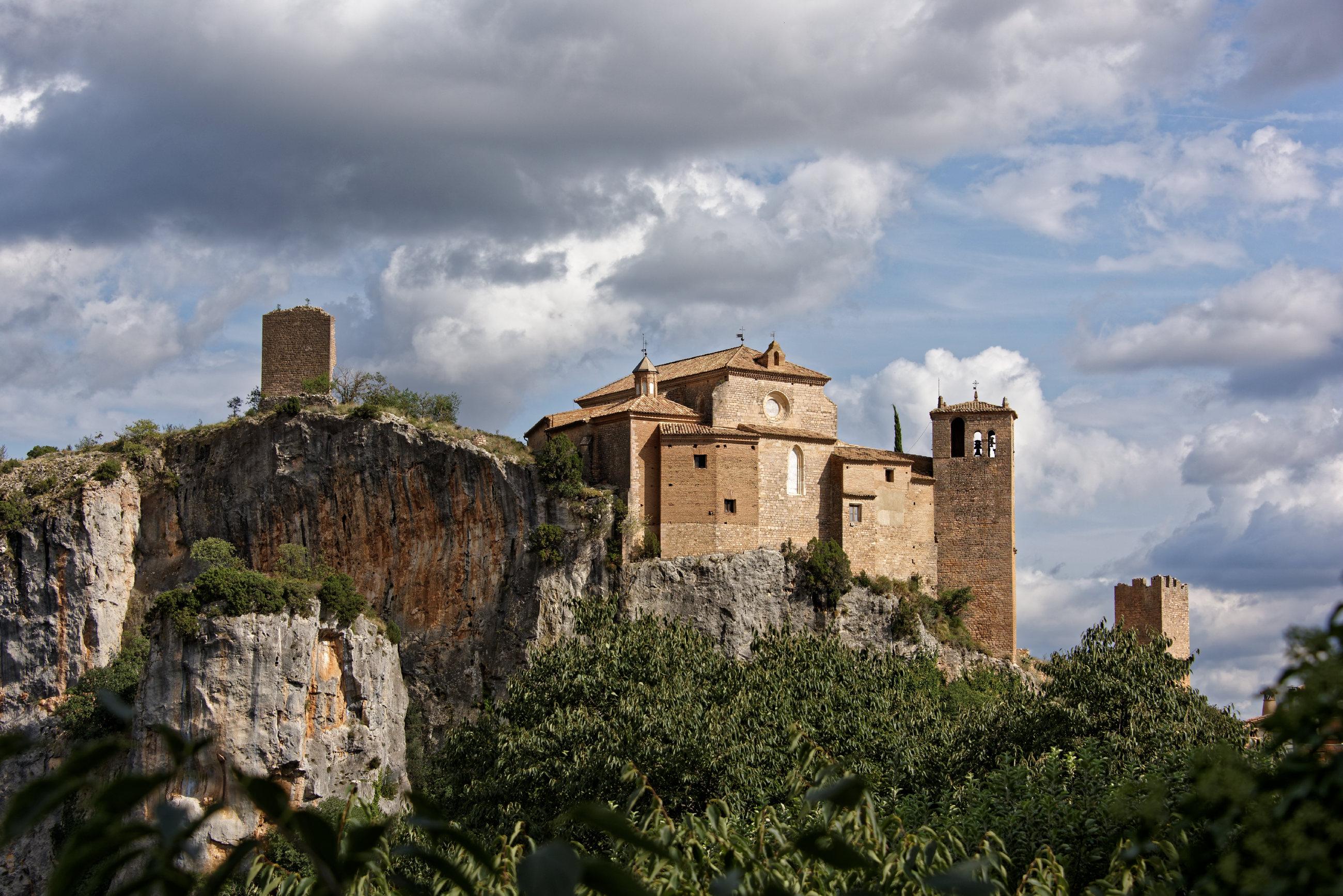 (7643) Alquezar - Sentier des passerelles ( Somontano)