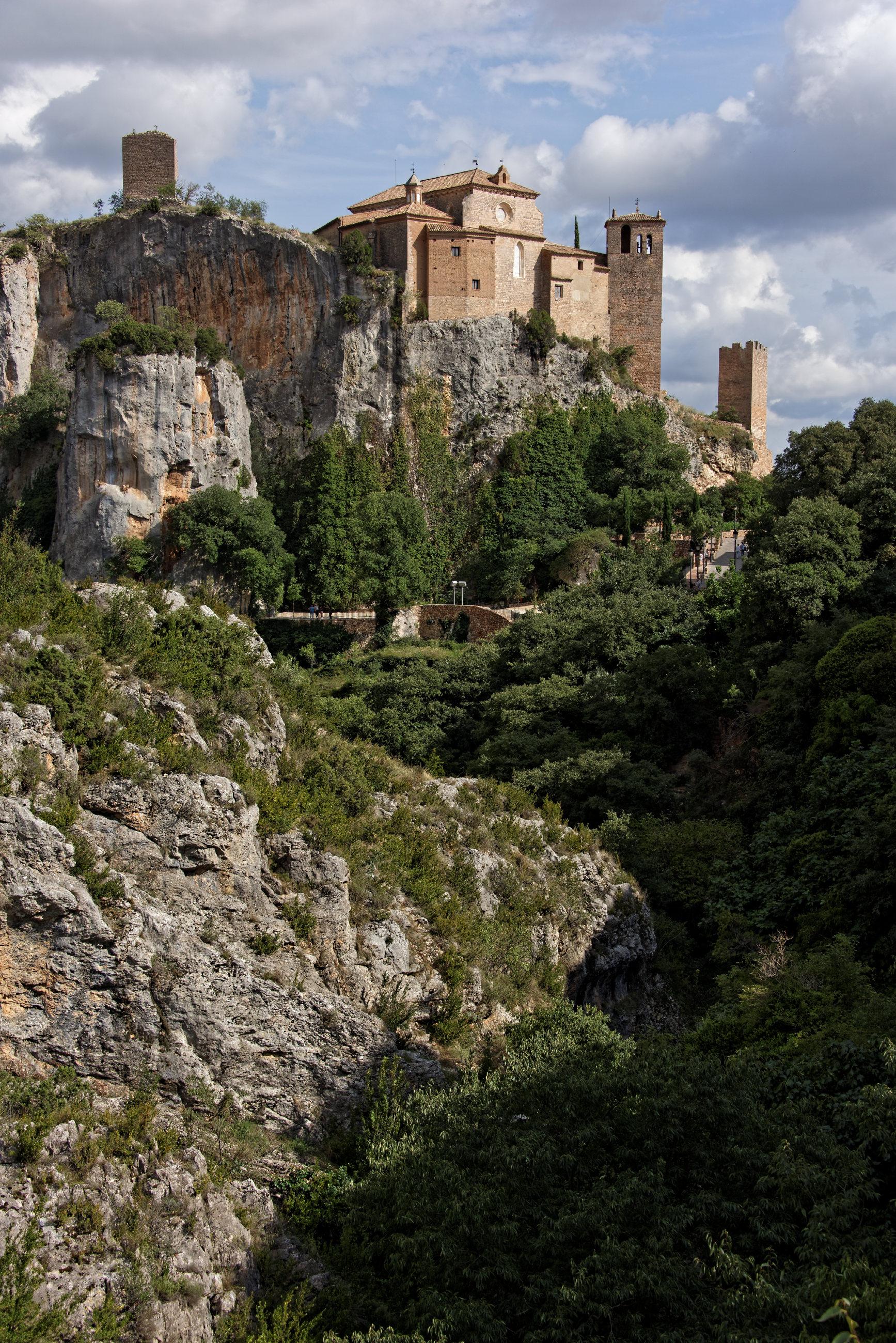 (7646) Alquezar - Sentier des passerelles ( Somontano)