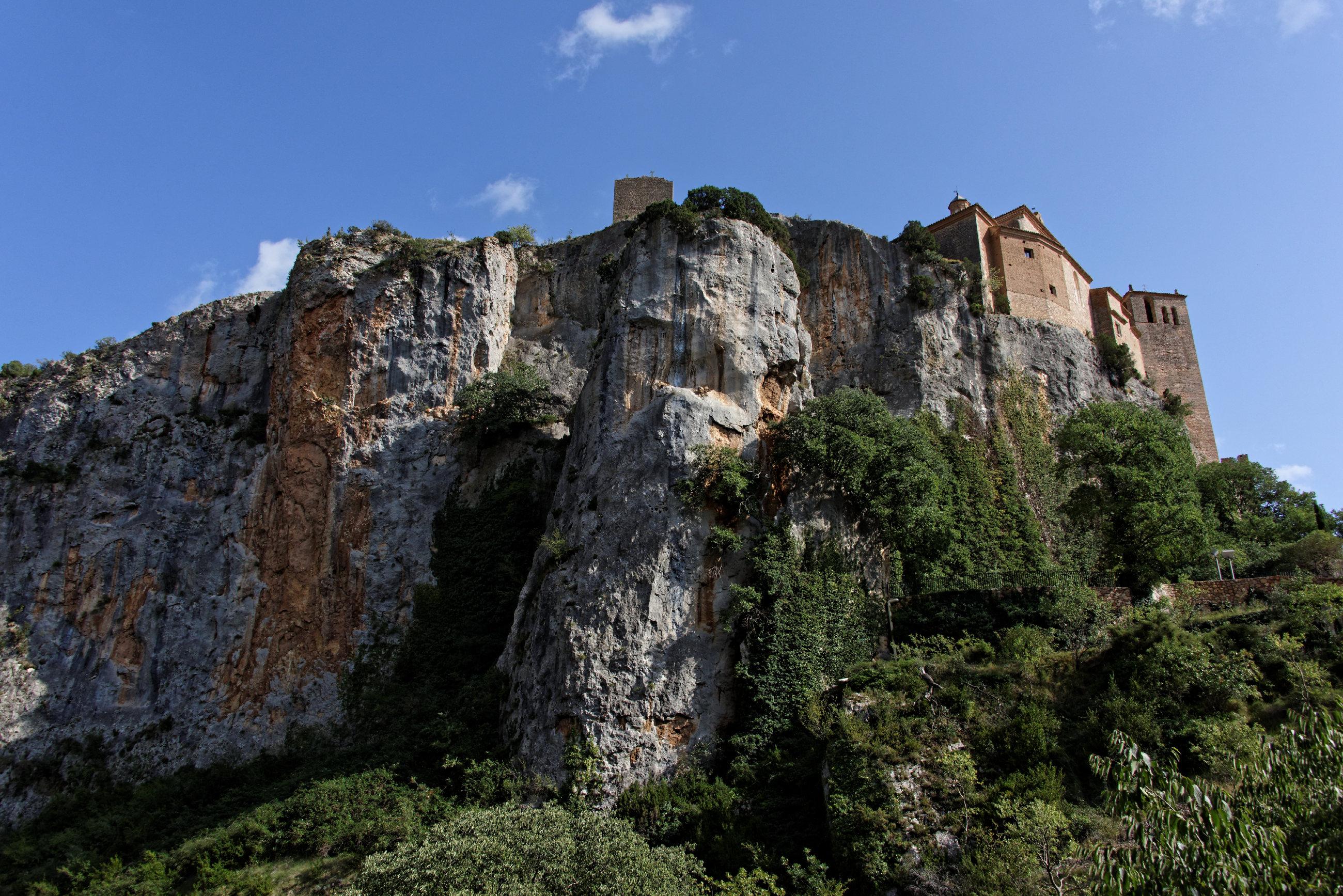 (7651) Alquezar - Sentier des passerelles ( Somontano)