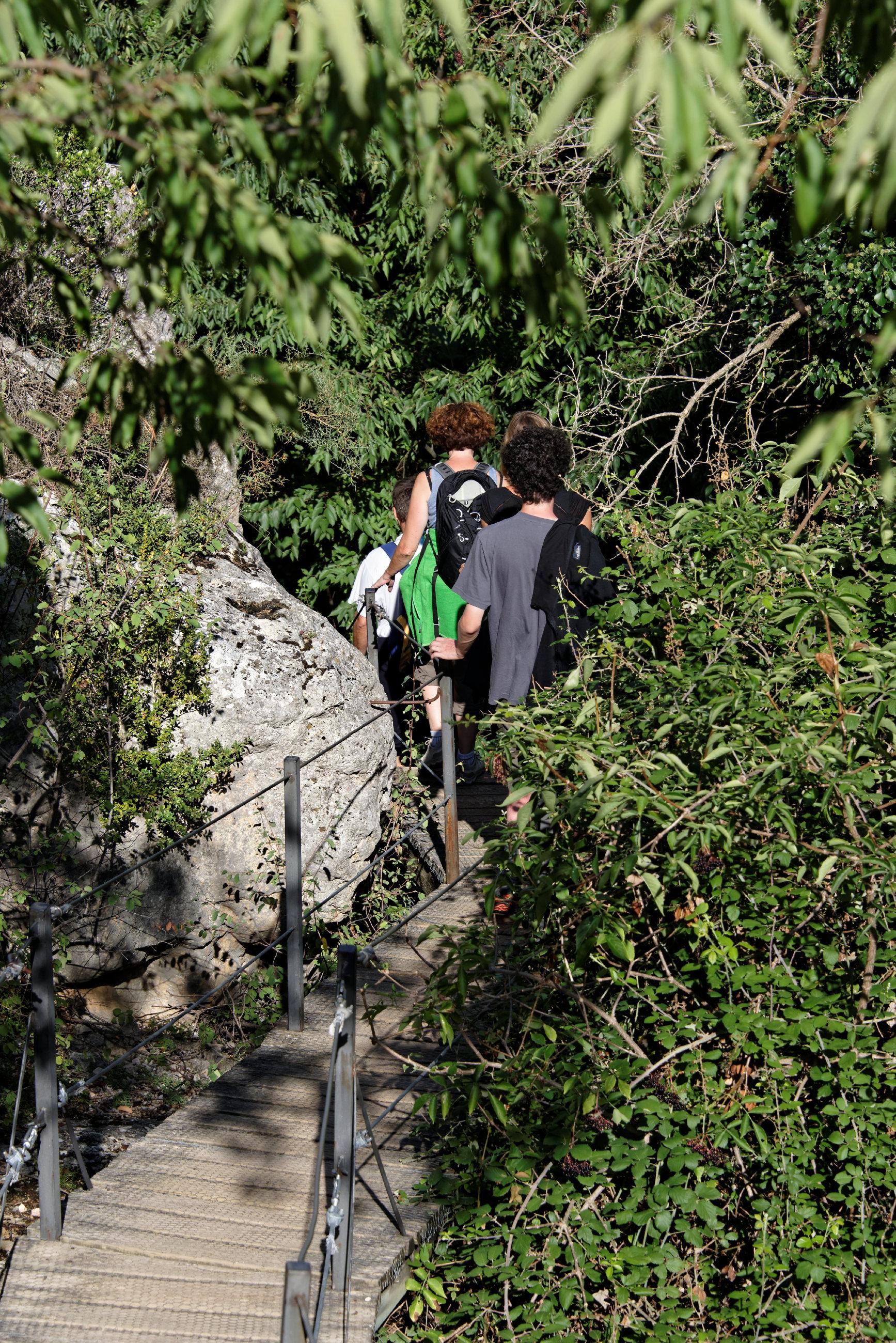 (7654) Alquezar - Sentier des passerelles ( Somontano)