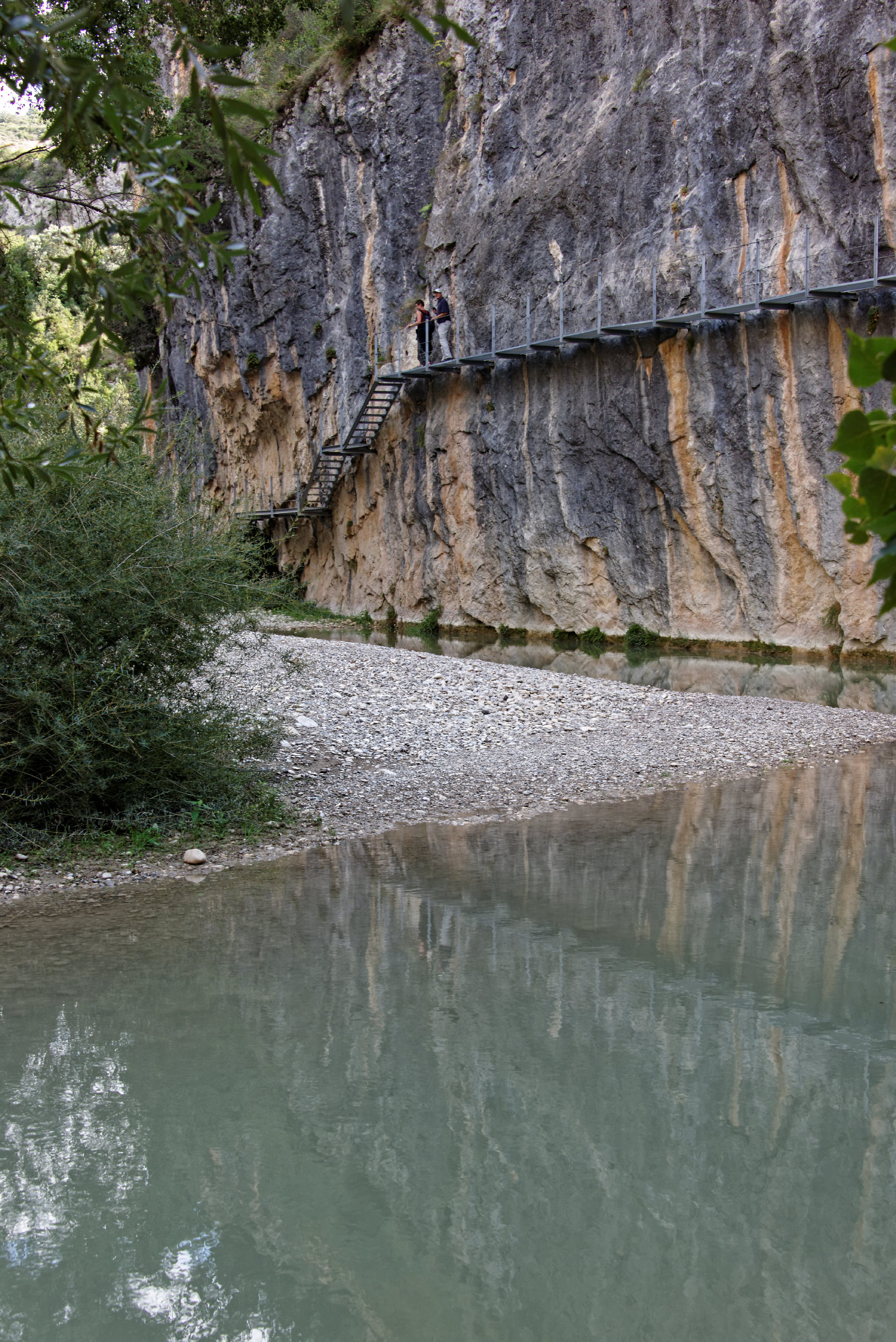 (7657) Alquezar - Sentier des passerelles ( Somontano)
