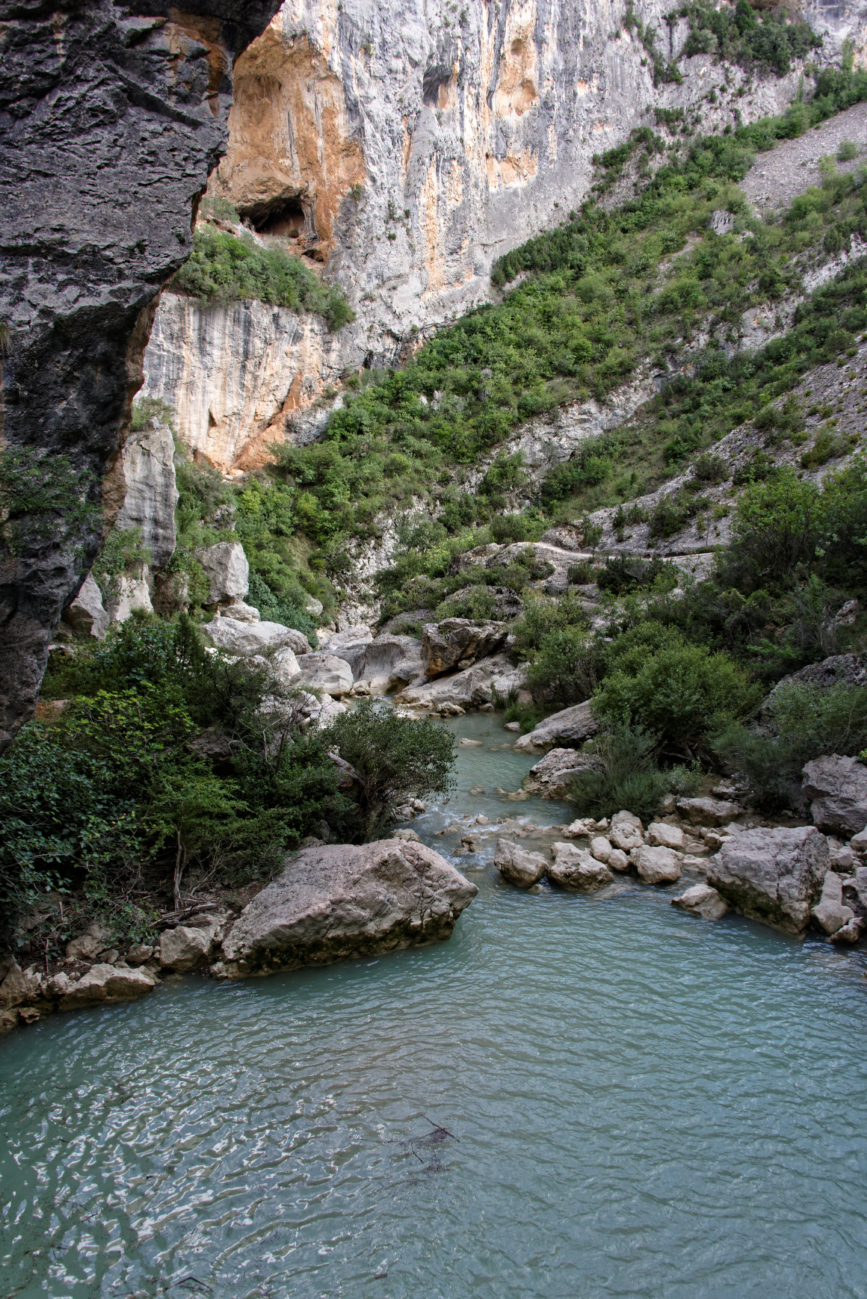 (7695) Alquezar - Sentier des passerelles ( Somontano)